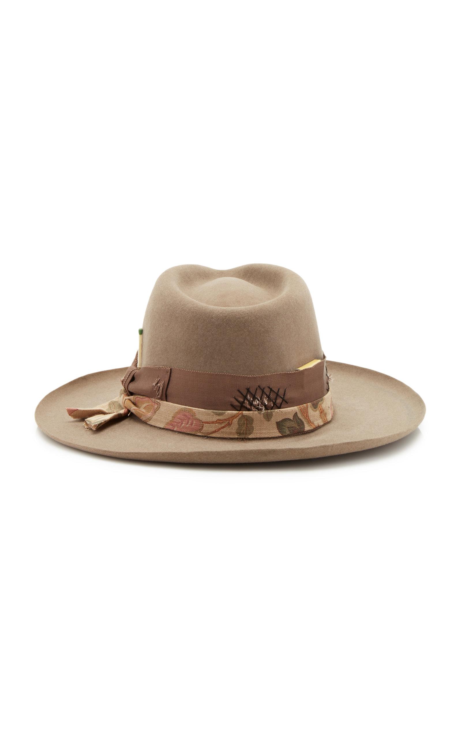 Astral Beaver Felt Smoke Hat Nick Fouquet KeFBa