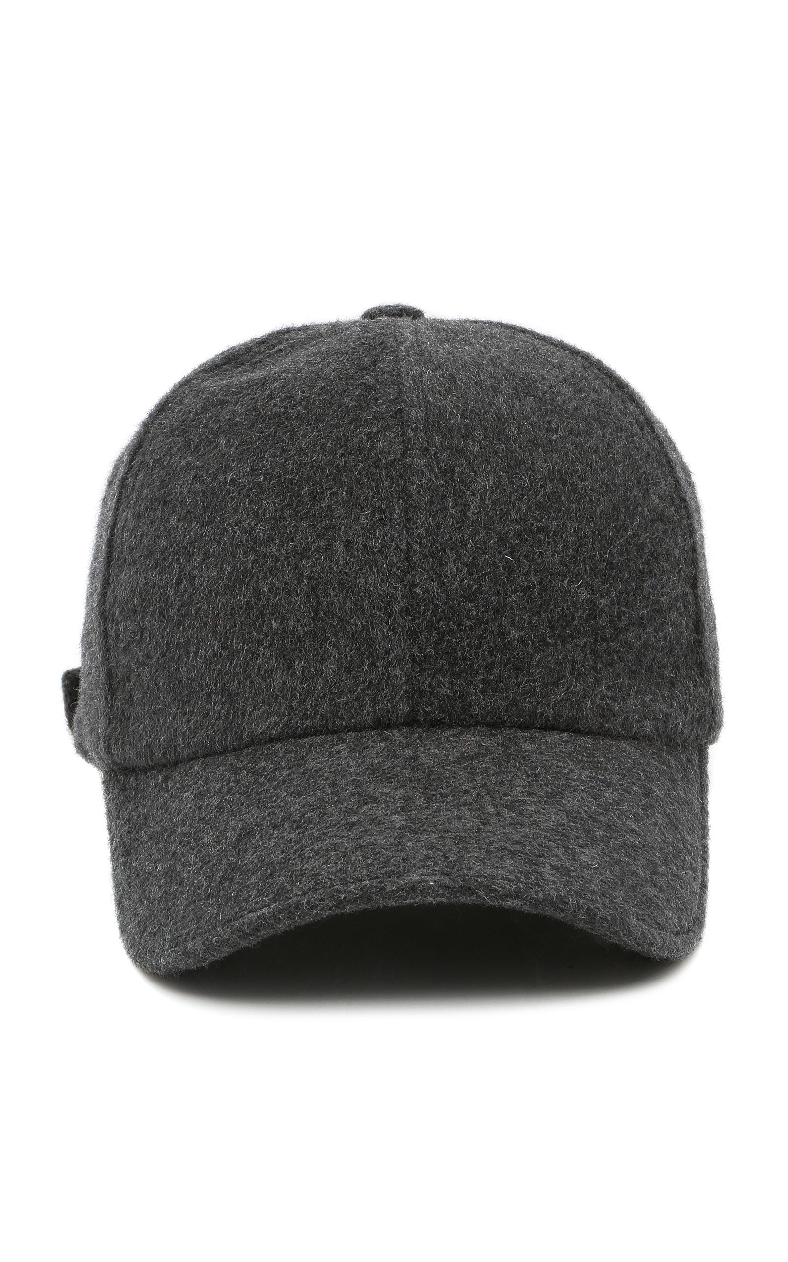 b6737af8614 Officine GénéraleWool-Cashmere Baseball Cap. CLOSE. Loading