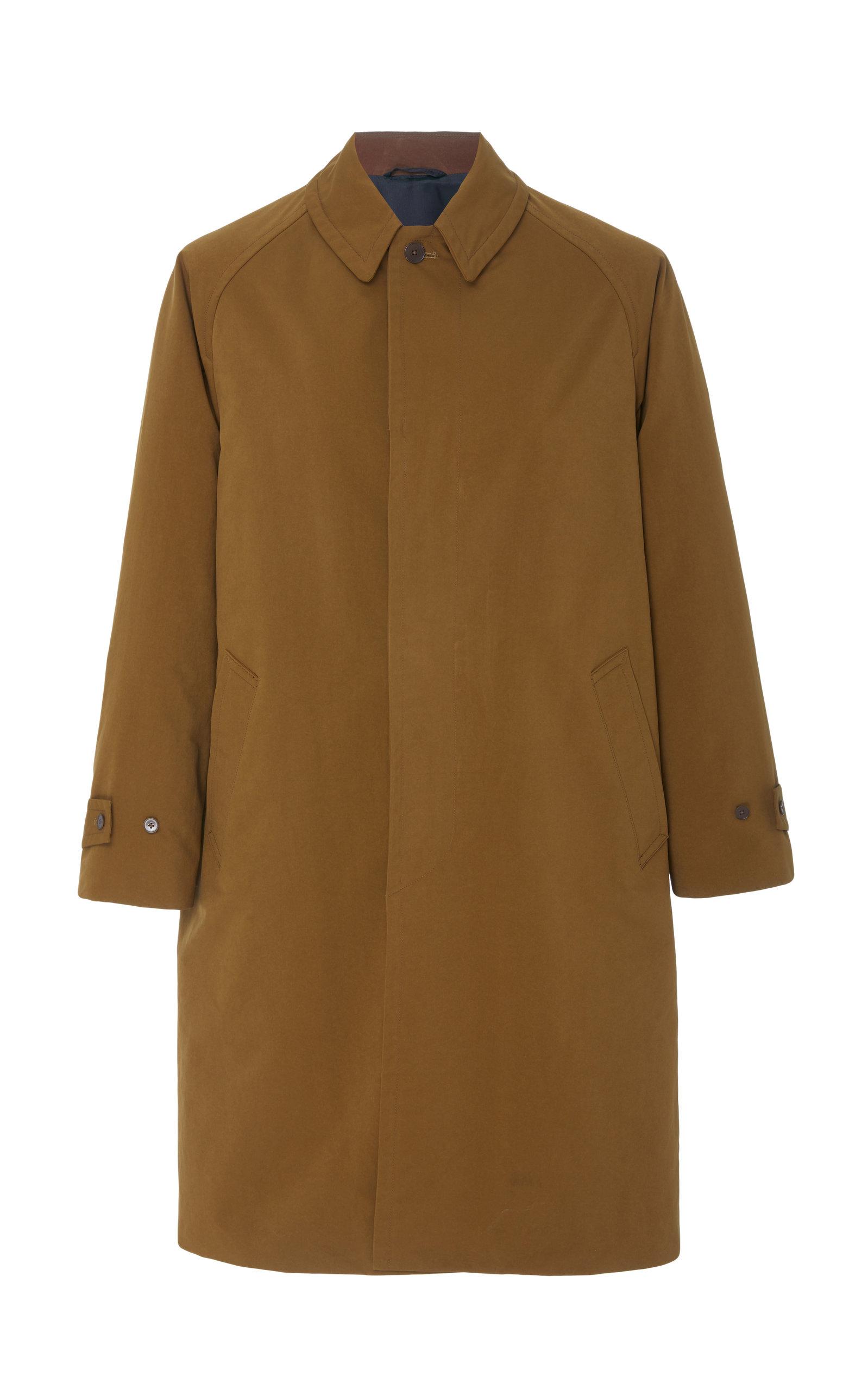 CAMOSHITA Raglan Coat in Brown