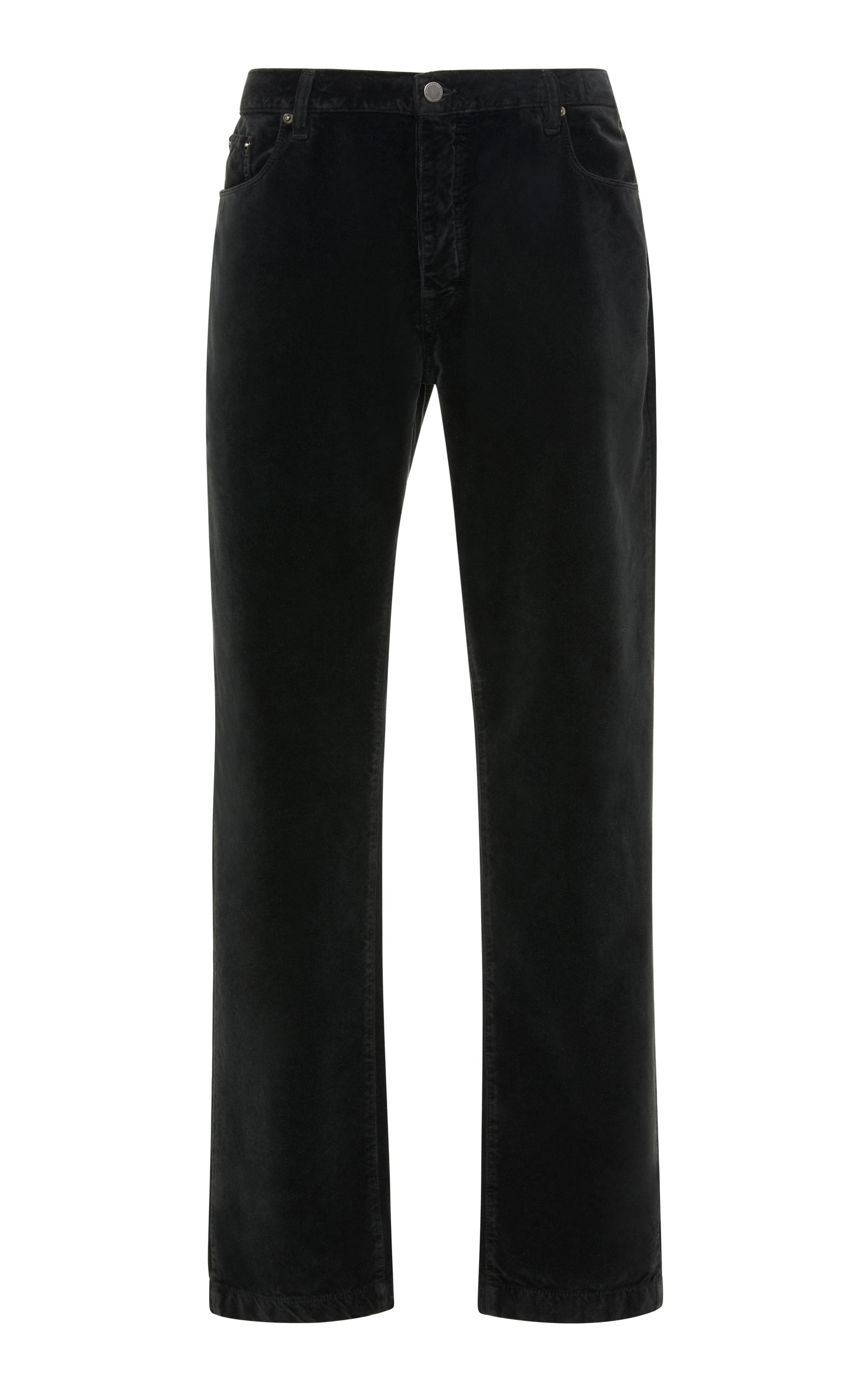 MASSIMO ALBA BRUSHED VELVET CHINOS