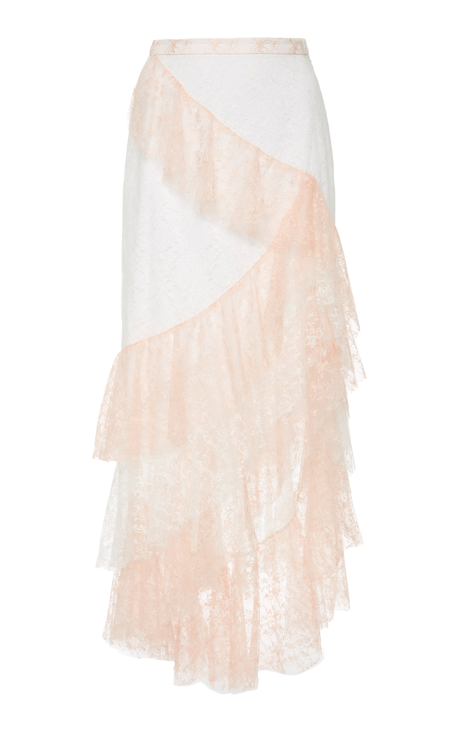 moda operandi floral tulle ruffle skirt by rodarte