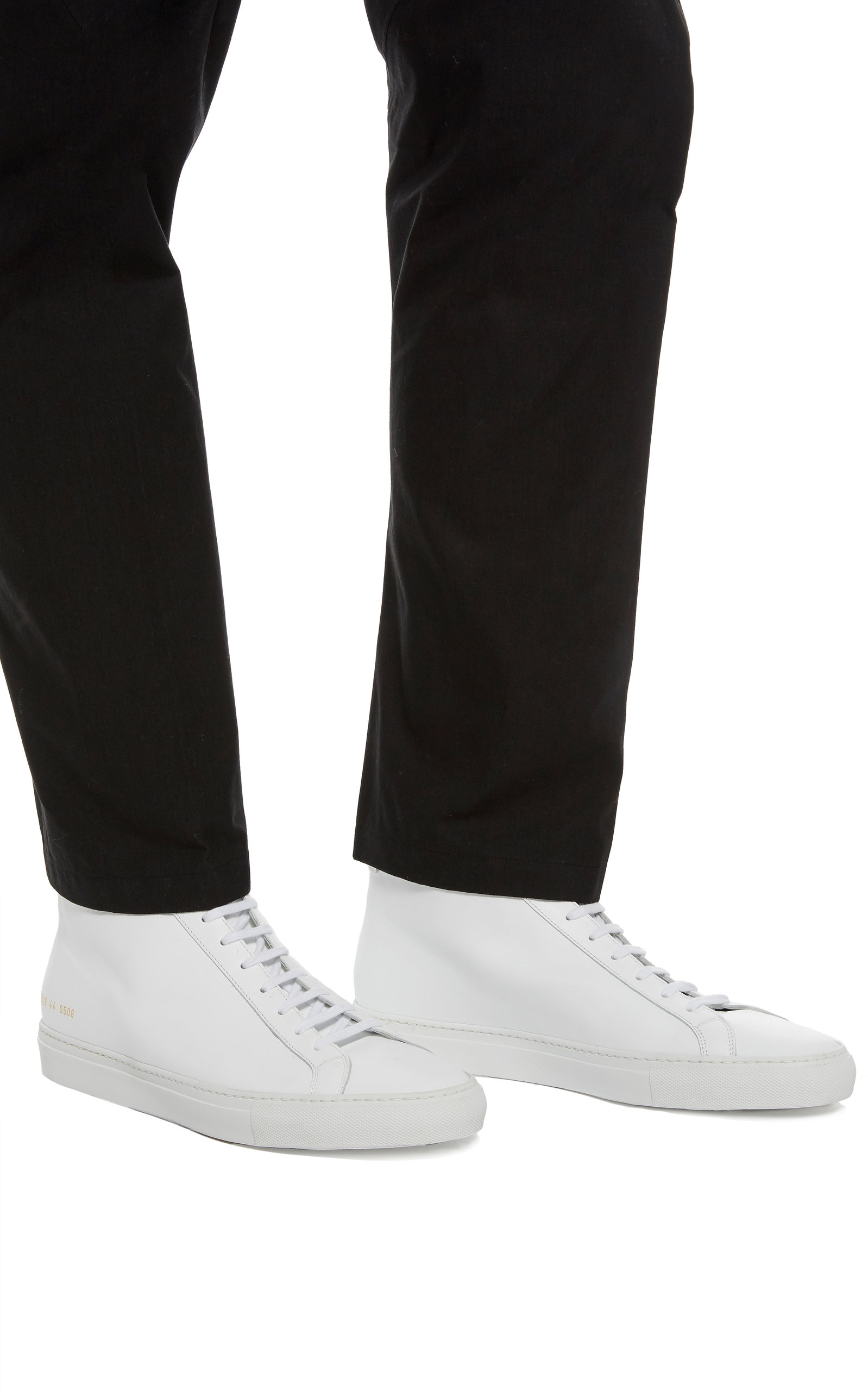 Achilles Leather High-Top Sneakers By