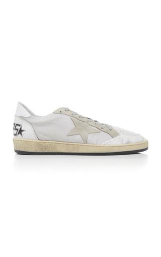 GOLDEN GOOSE DELUXE BRAND | Golden Goose Ball Star Leather Sneakers | Goxip