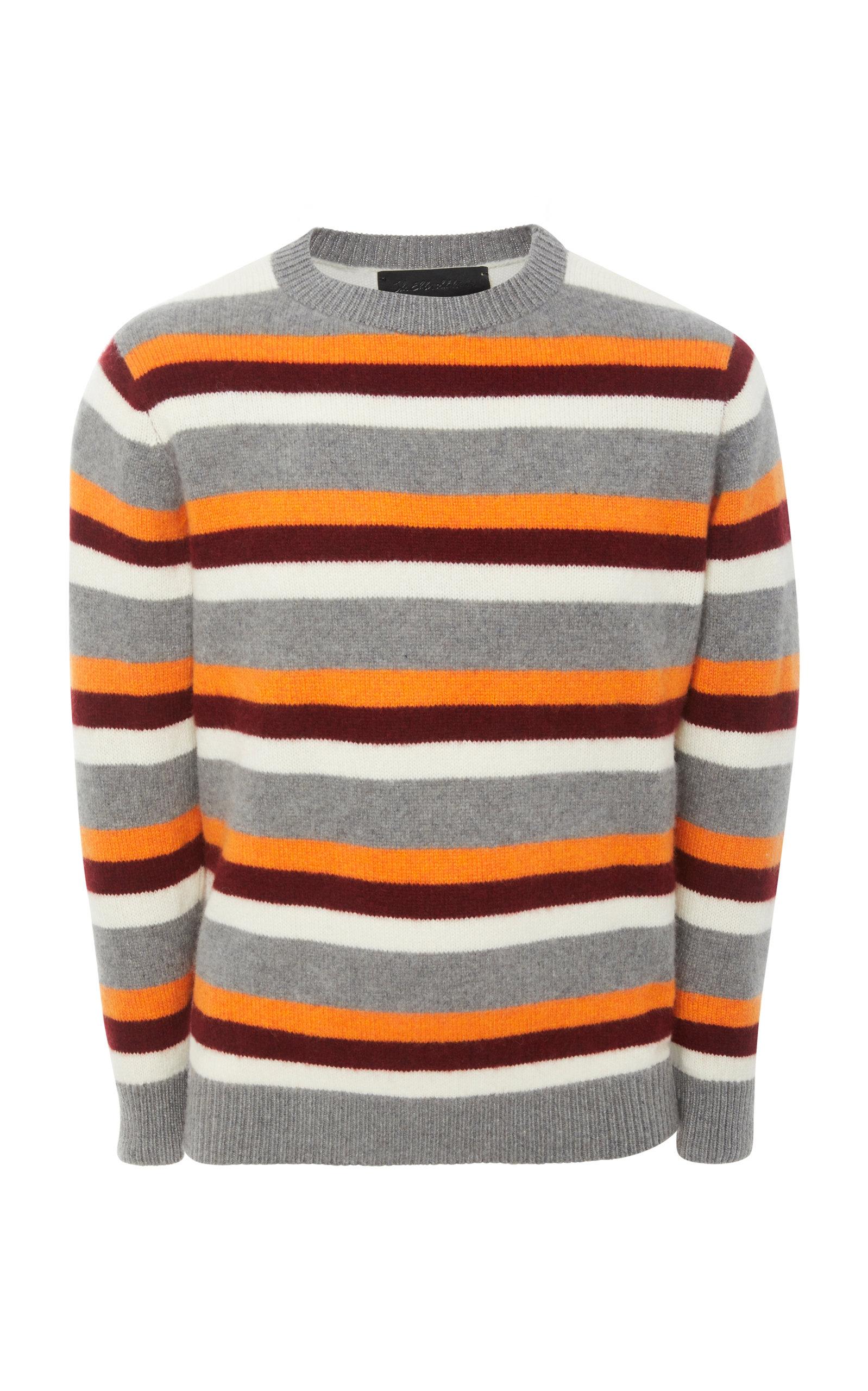 736455864c2 Exclusive Striped Cashmere Sweater