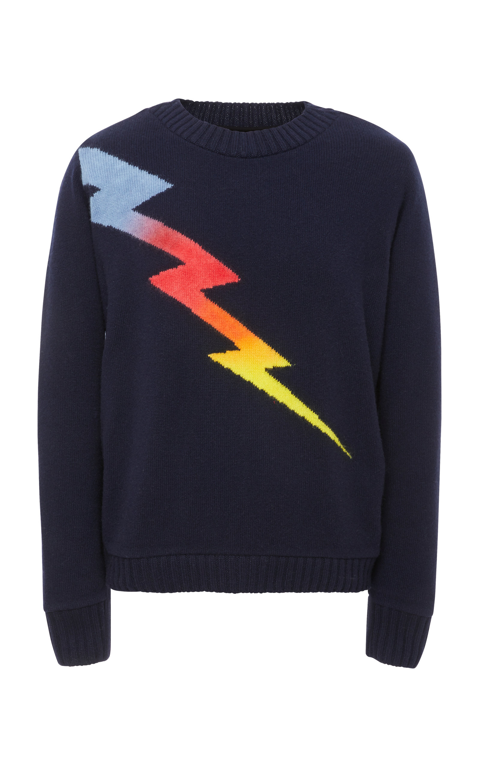 Statesman Sweater The Lightning Exclusive In Cashmere Elder Intarsia Zzq4p4