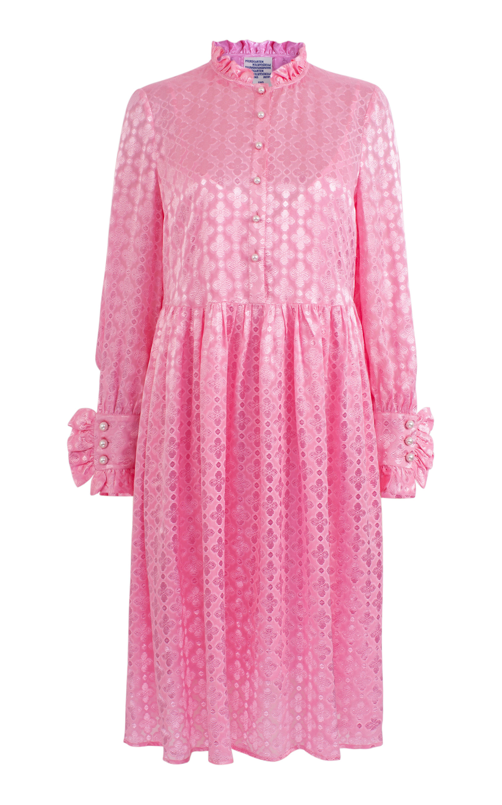 Baum By Knee Und Operandi Length Pferdgarten Pink Agacia Dress Moda nTYXPIxq