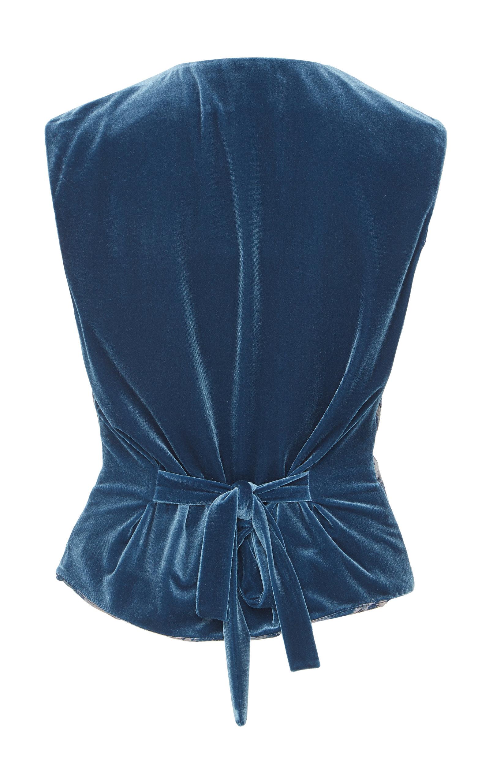 f8d7609d159 Luisa BeccariaFloral Jacquard Vest. CLOSE. Loading