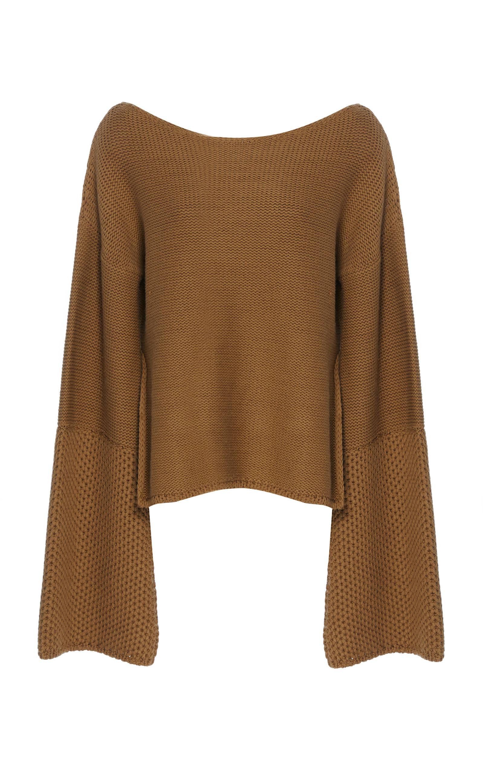 ARJE THE FORMANTERRA WOOL AND LINEN-BLEND SWEATER