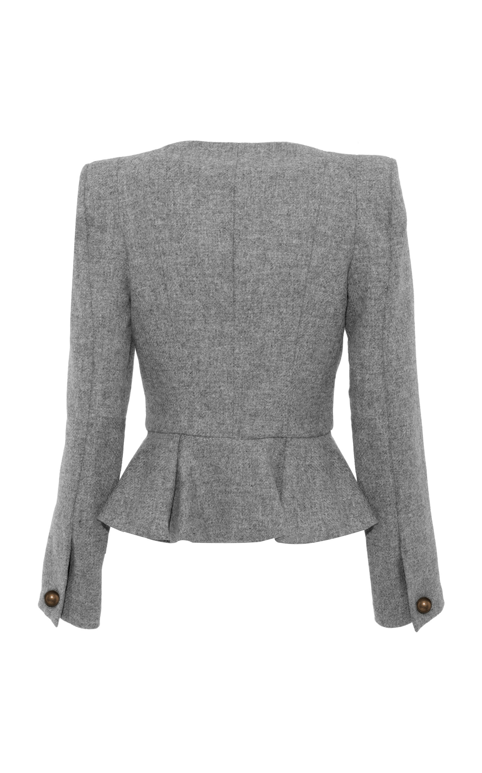 Moda Operandi | Sharp Short Tweed Jacket by Anna Mason