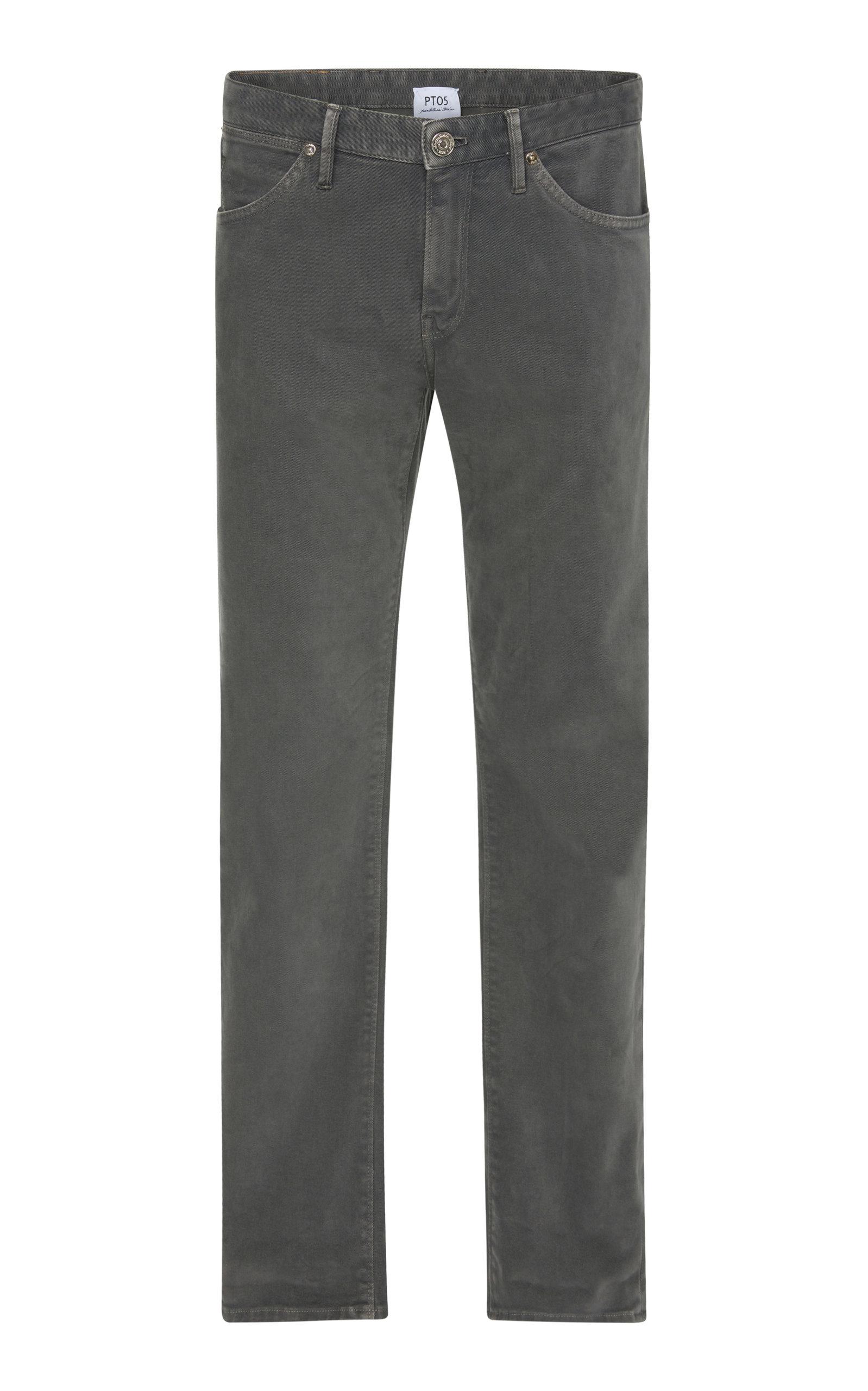 PT 05 SOUL SLIM COTTON PANTS