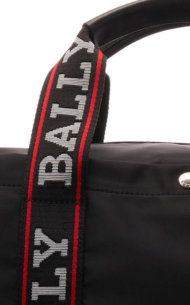 Bally Travel Nylon Logo Duffle Bag