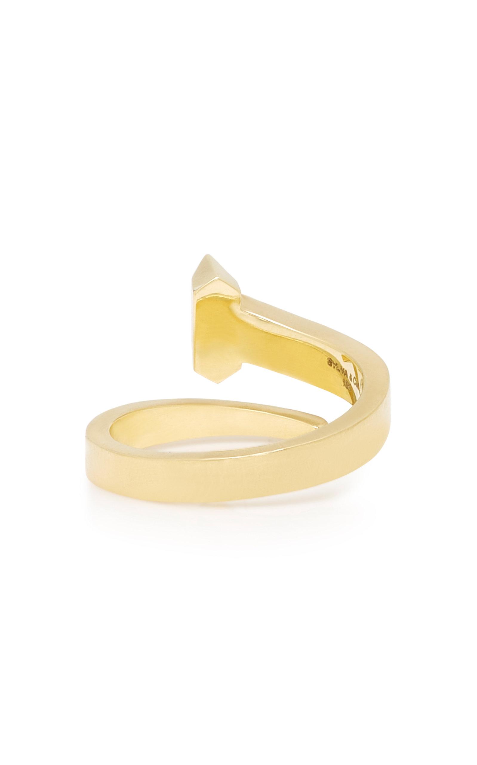 Equestrian 18K Gold Diamond Ring Sylva & Cie. kZuy8K7q