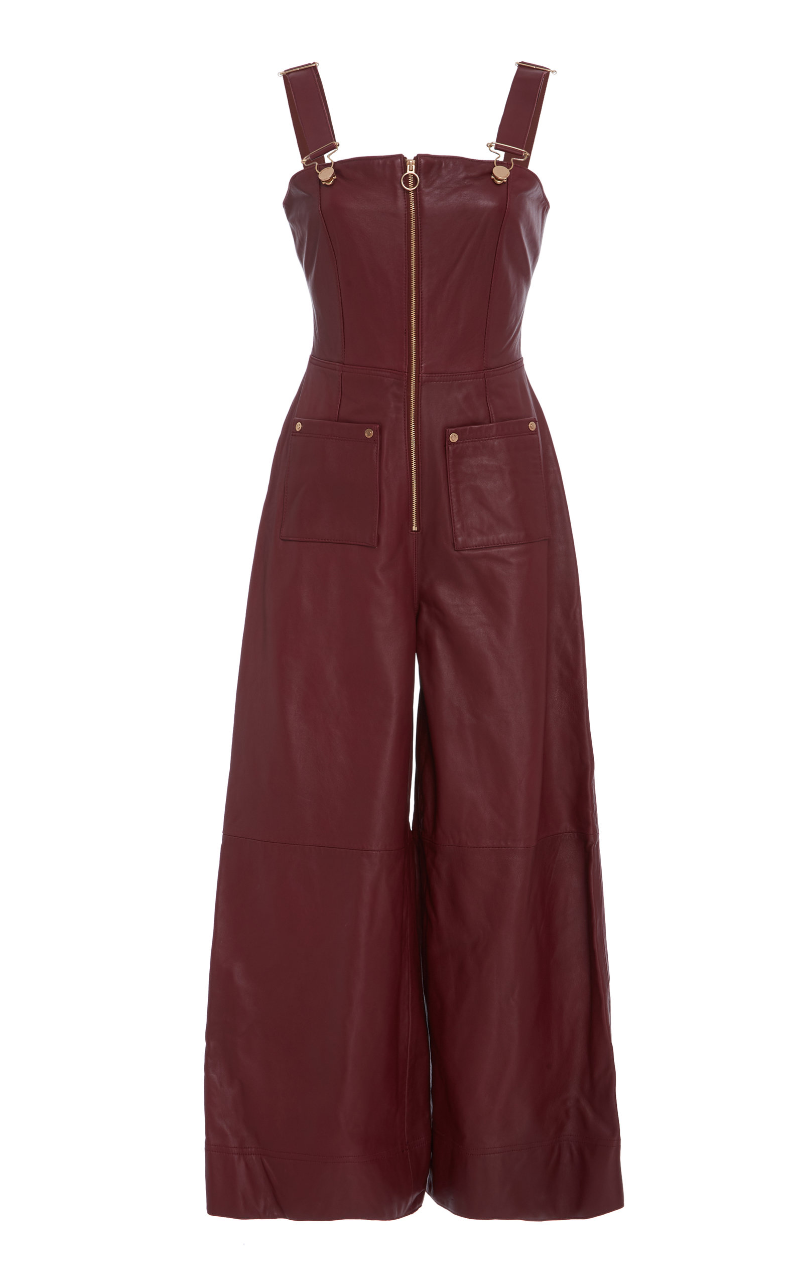 8eafad7abae0 Shop Alice Mccall Heartbreaker Jumpsuit In Burgundy