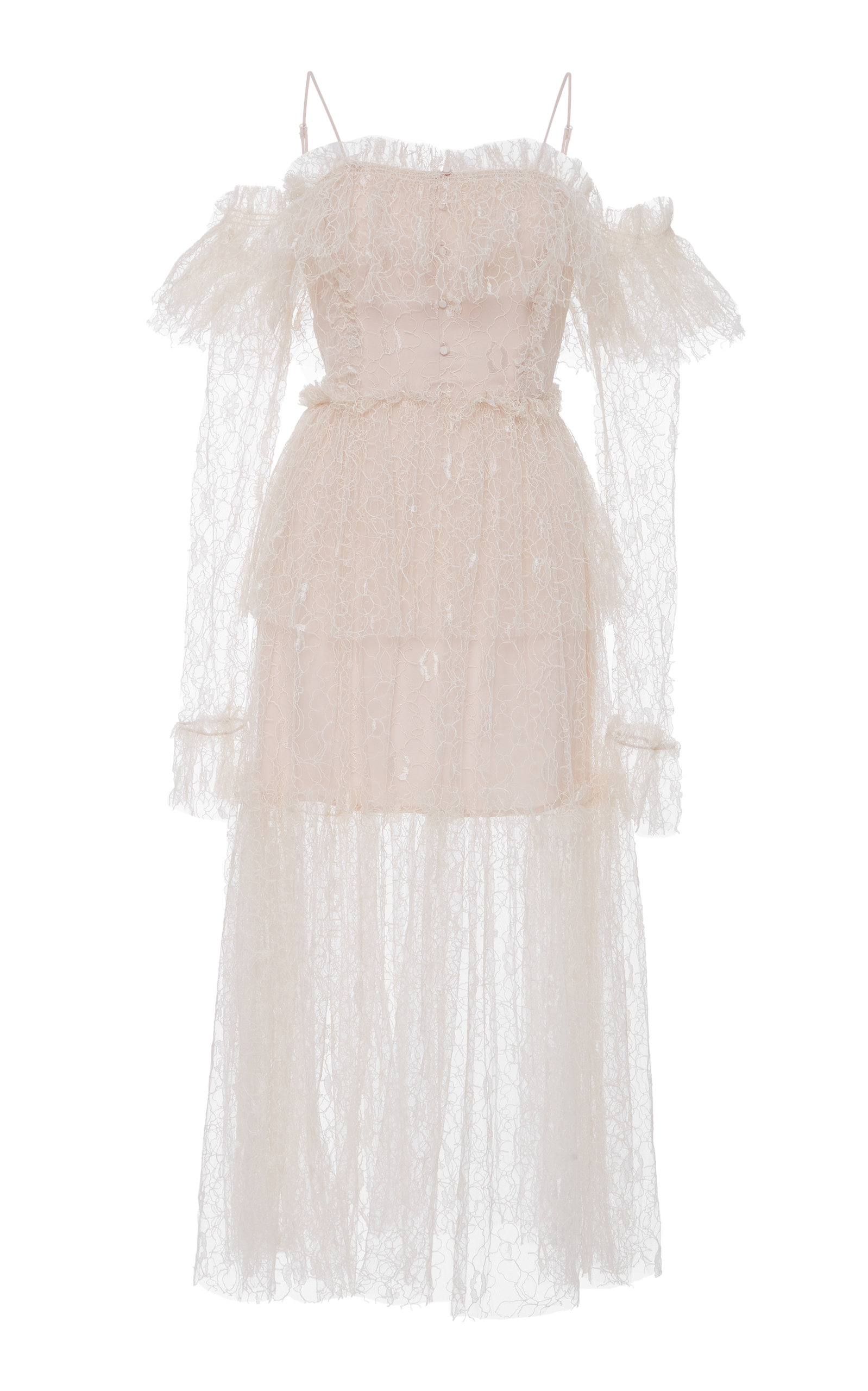 ALICE MCCALL Just The Way You Are Dress in Neutrals
