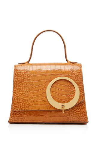 TRADEMARK | Trademark Harriet Croc-Embossed Leather Bag | Goxip