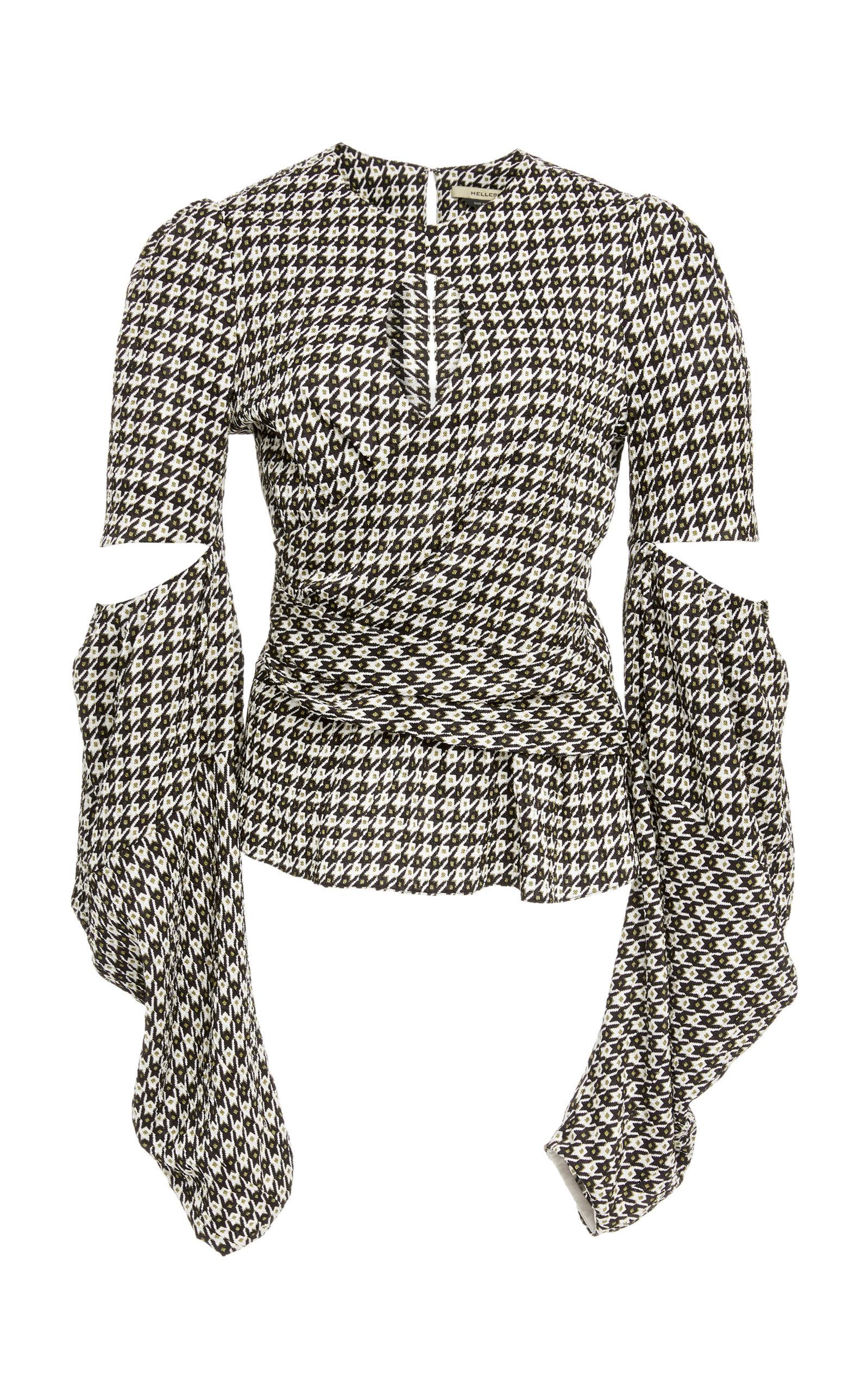 e92bdf4a48f9 large hellessy-black-white-celeste-cutout-houndstooth-jacquard-blouse.jpg