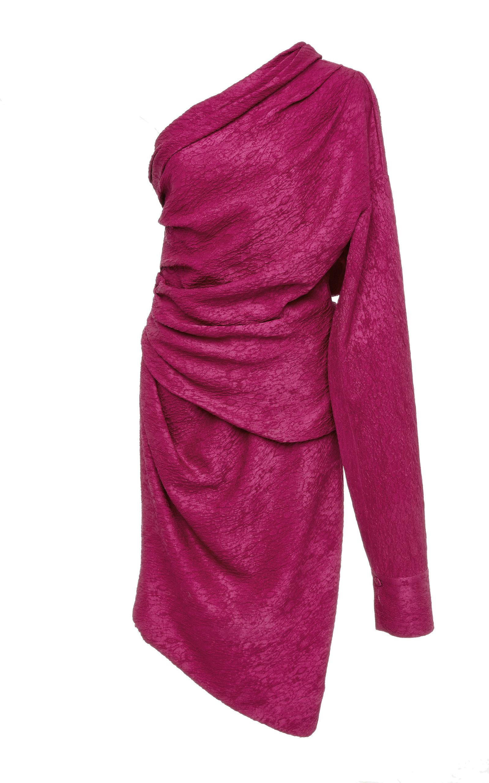 HELLESSY Ainsley Drape Dress in Pink