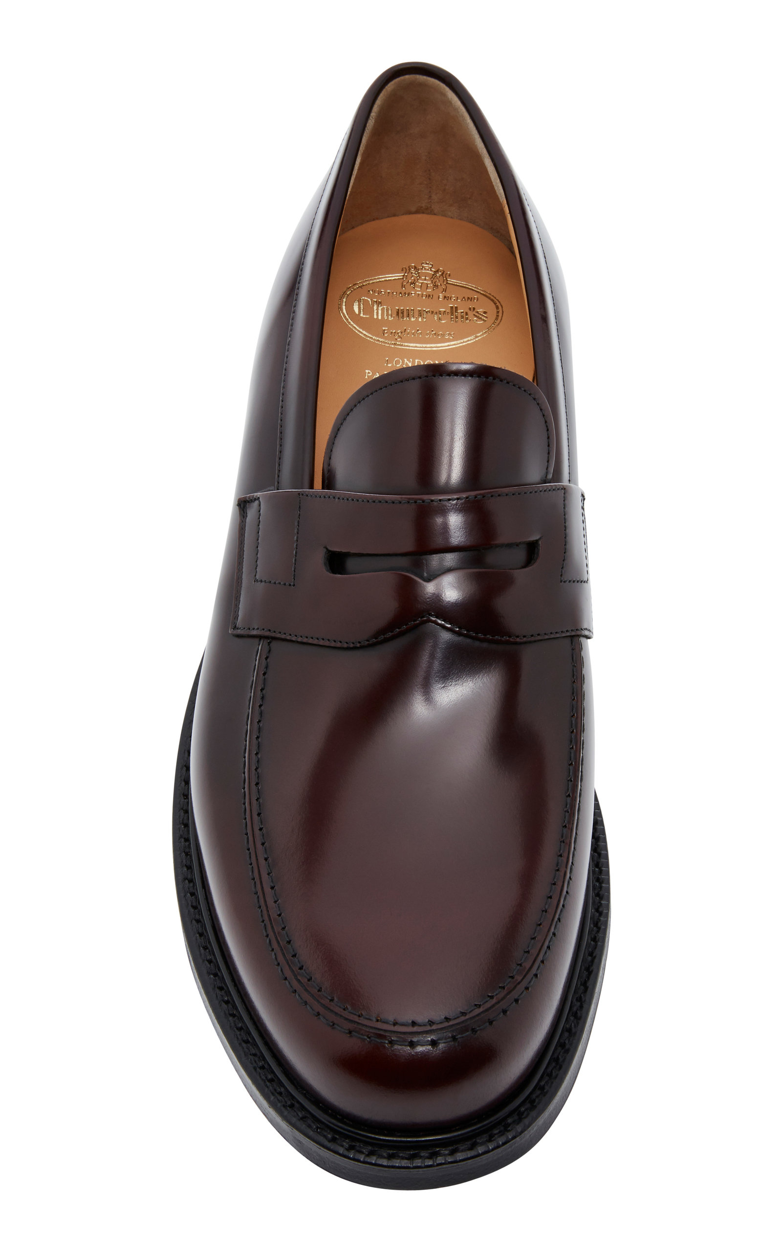9386bd0a5844 Church sStaden Polished-Leather Penny Loafers. CLOSE. Loading. Loading.  Loading