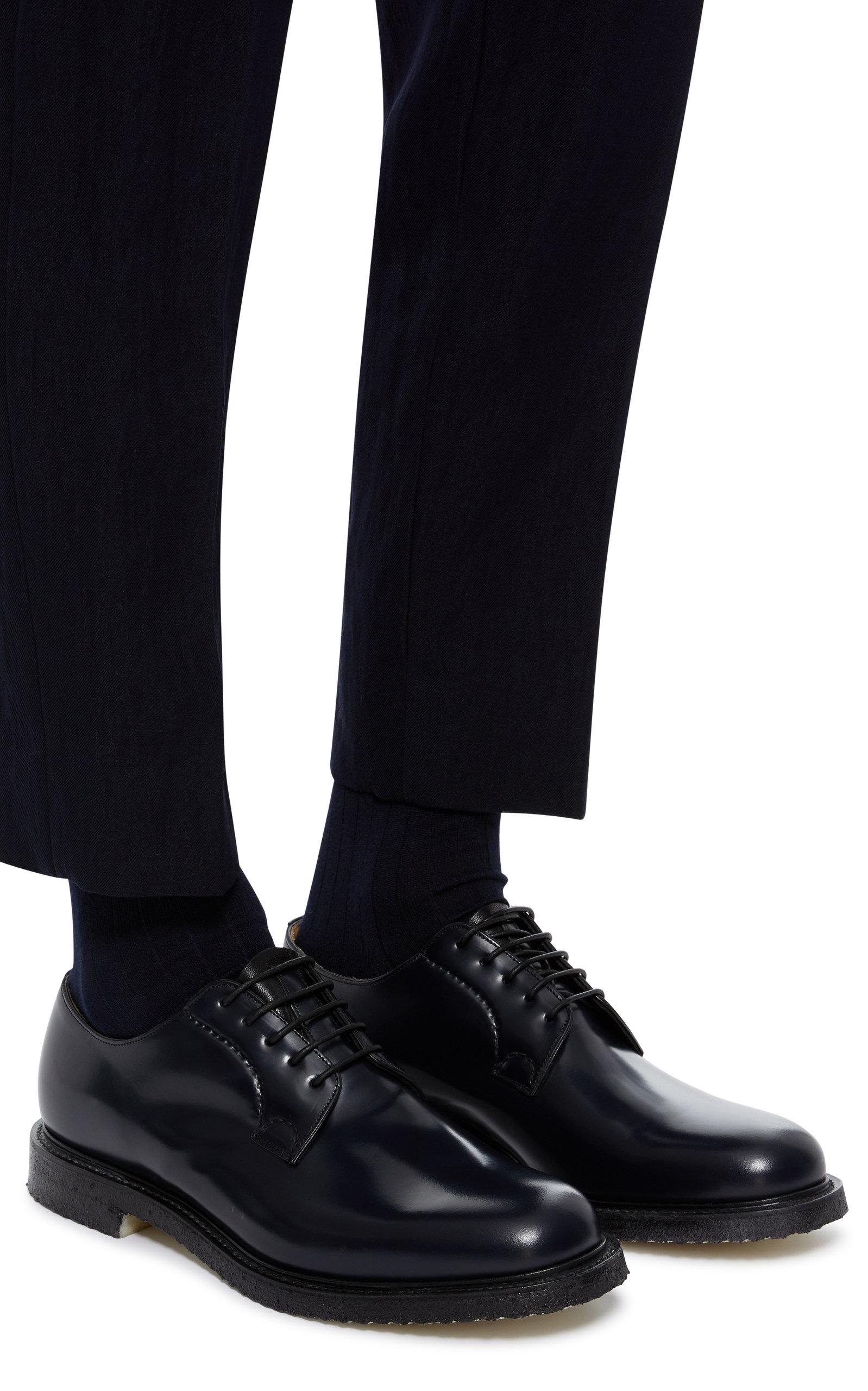 736c383e60bd8 Shannon Leather Derby Shoes by Church's | Moda Operandi