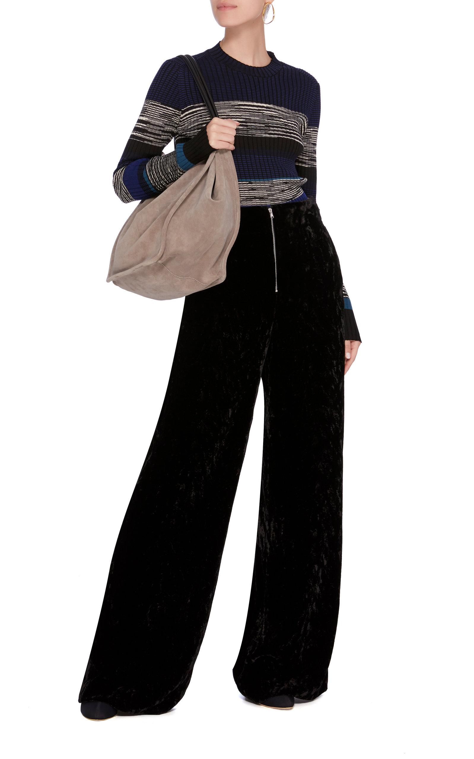 And Marled Proenza Striped Schouler Sweater knit Rib EqwTa8xw