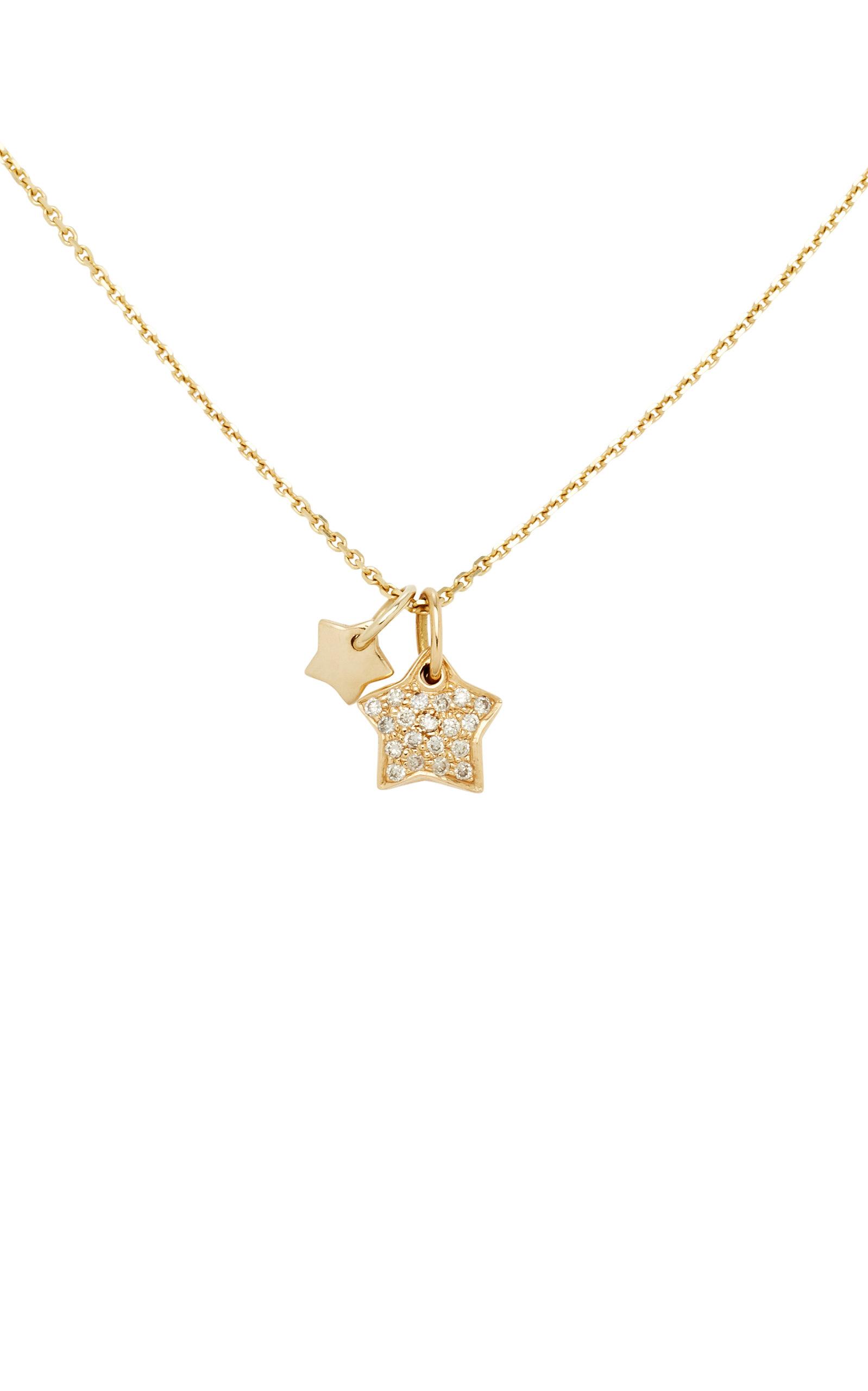 Deux Oiseaux 18k Collier De Diamants D'or Avec Mon Chéri D'amour vR3eZIEhsY