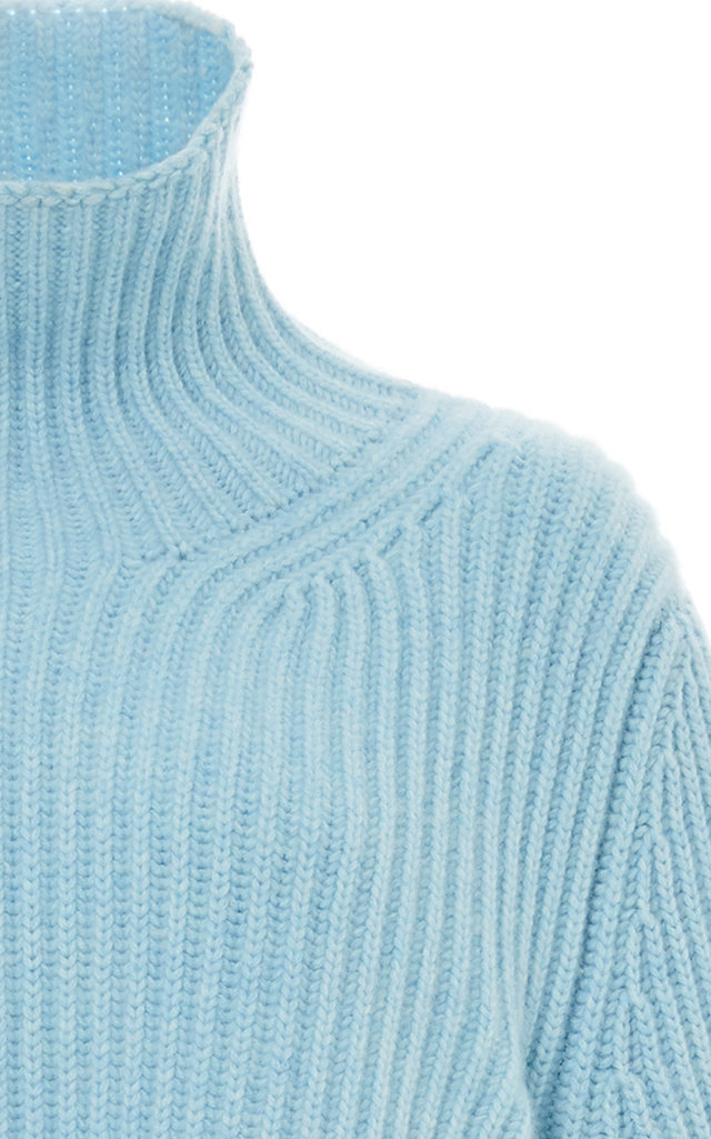Cashmere Khaite Turtleneck Ribbed Molly Sweater 7Fqrw0Exqg