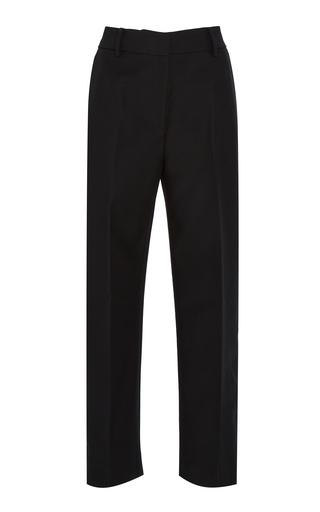 KHAITE | Khaite Catherine Cotton-Twill Cropped Pants | Goxip