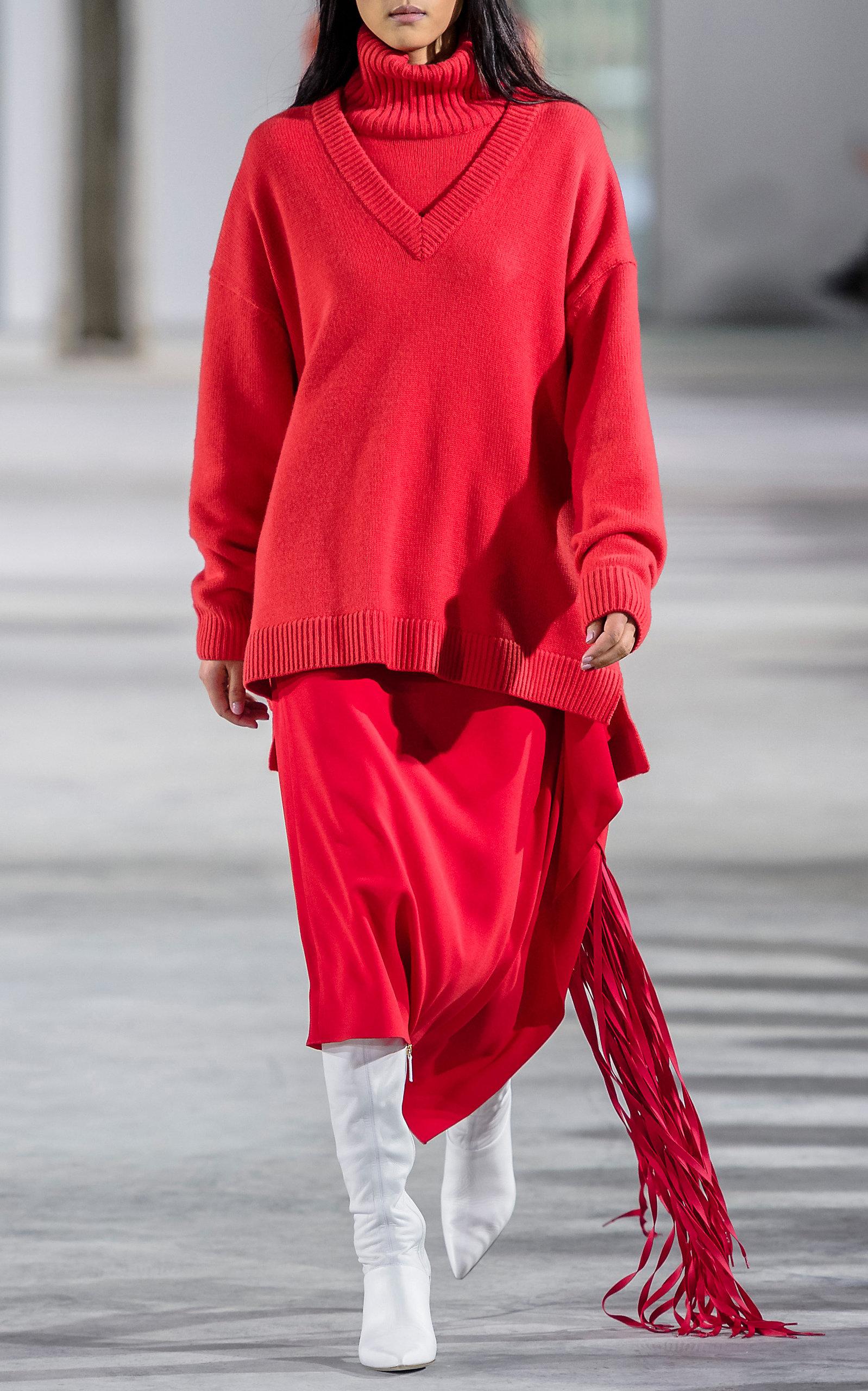 67d83248416b49 Cashmere V-Neck Sweater by Tibi | Moda Operandi