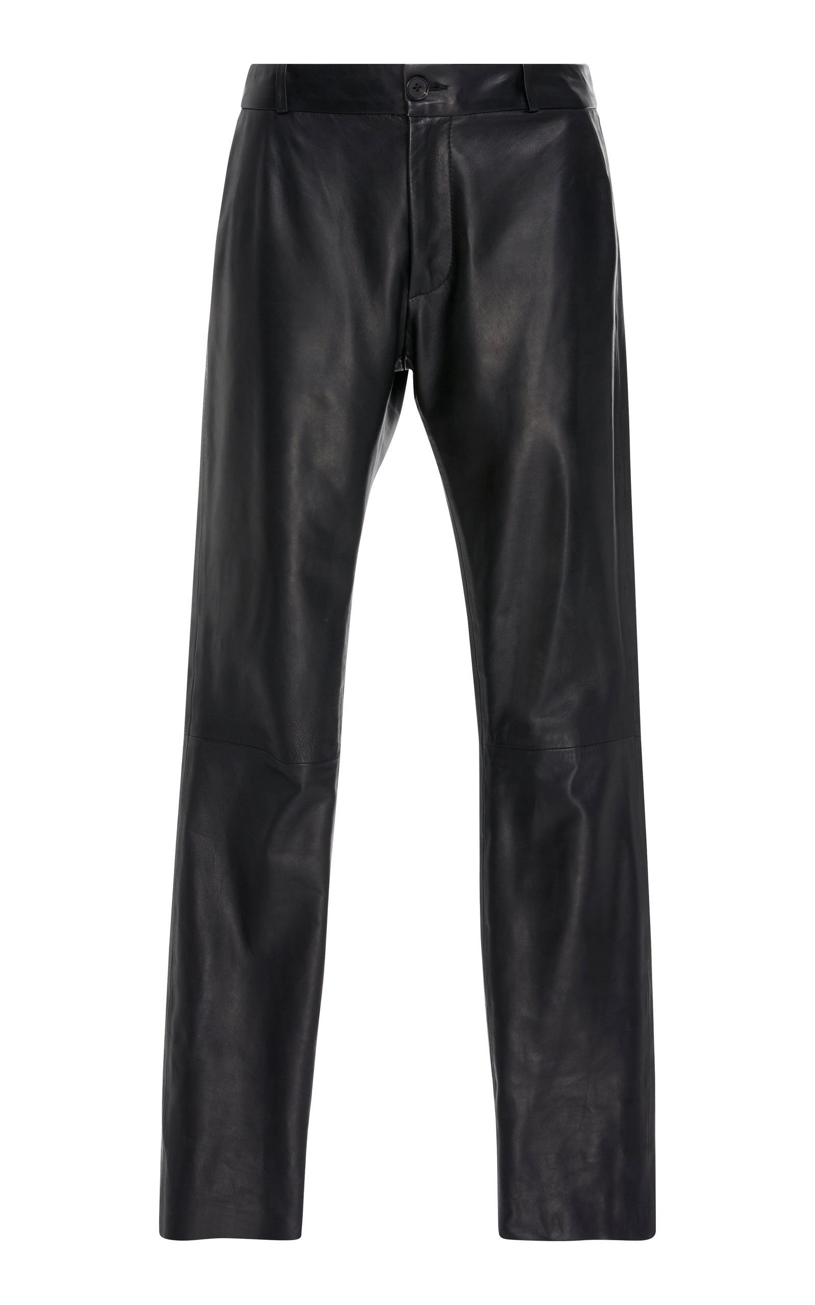 East Hampton Leather Slim Pants - Black Size 0