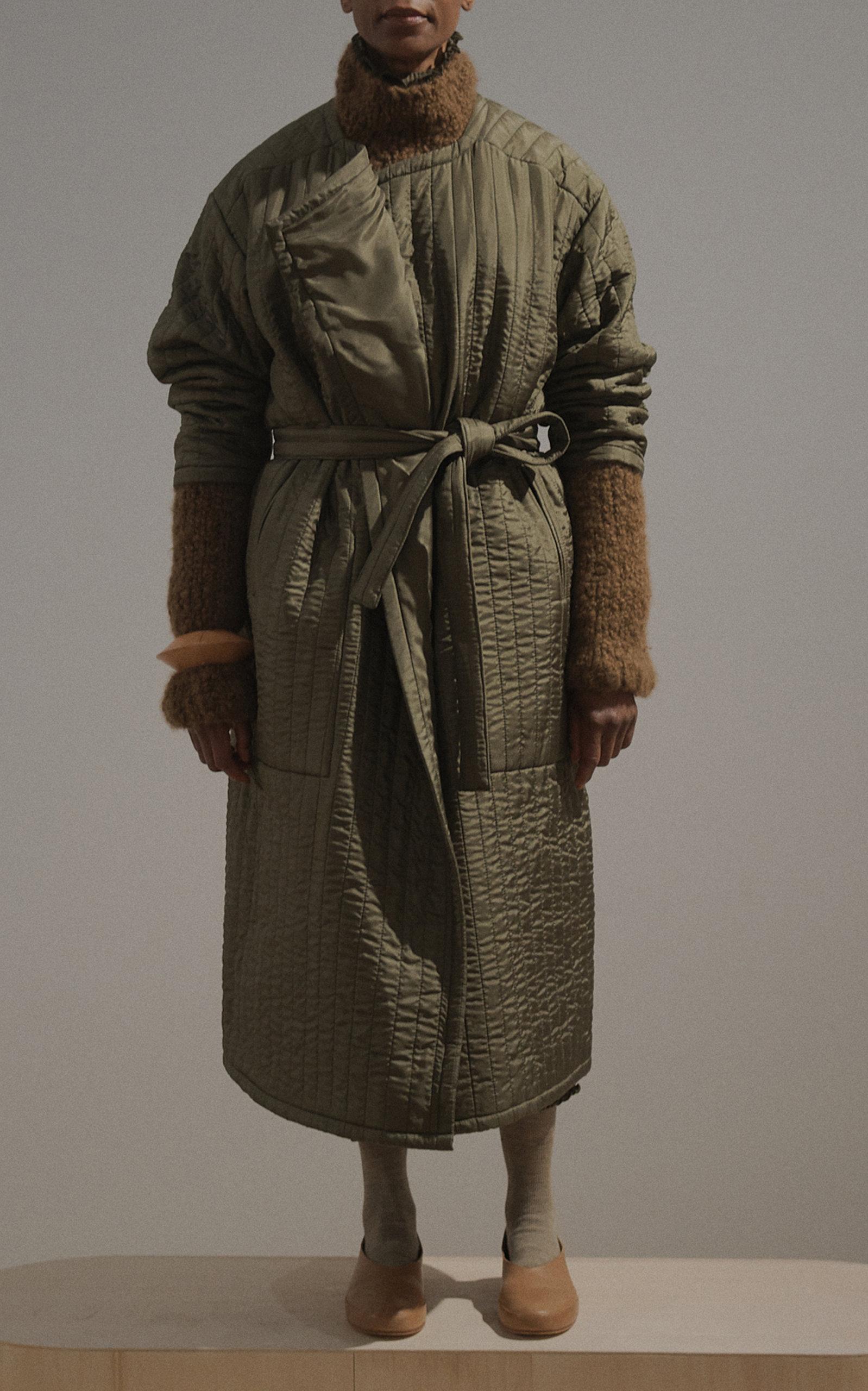 Lauren Operandi By Coat Manoogian Quilted Duvet Moda xYt7O