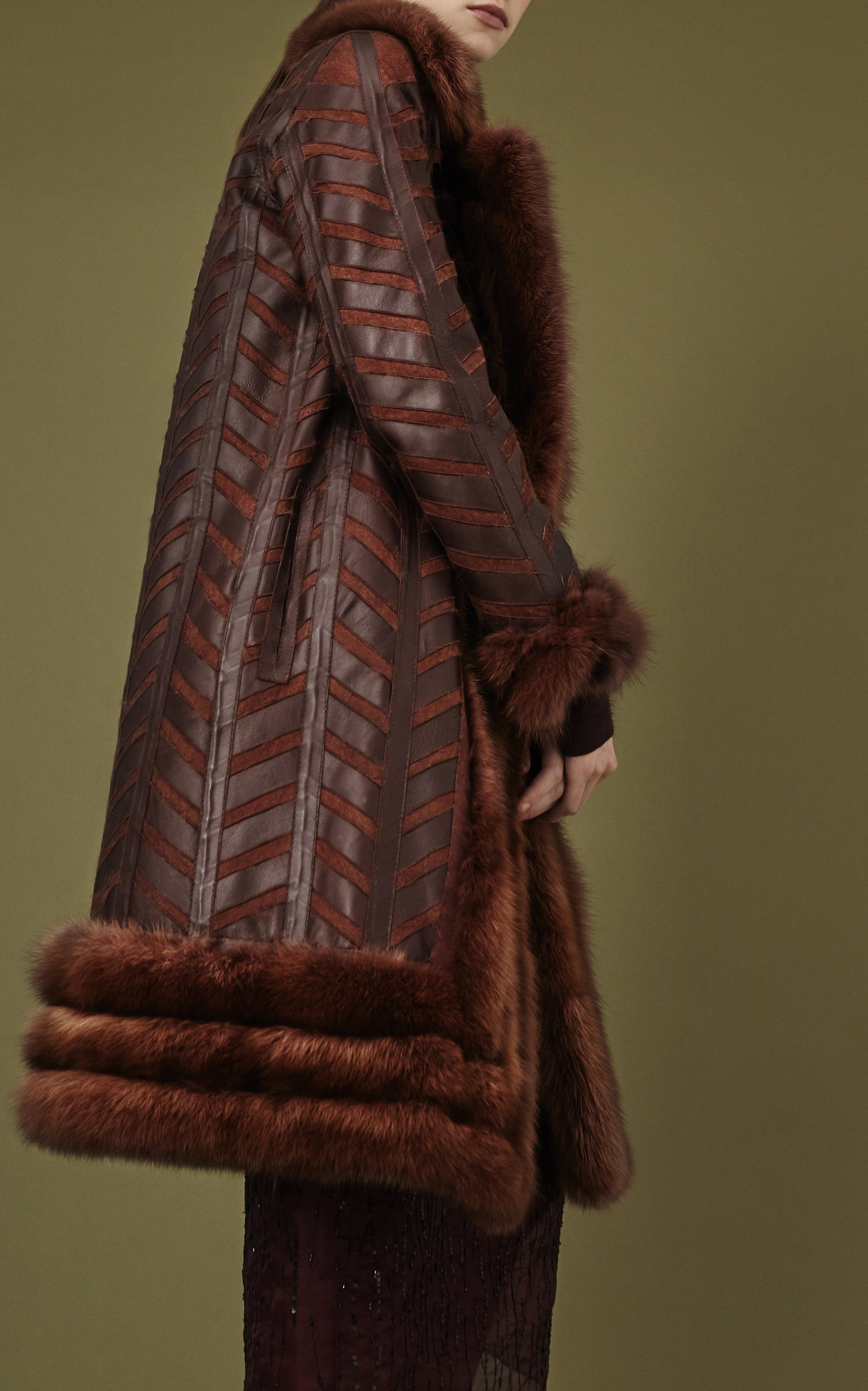 Reversible Sable Fur Coat by J. Mendel | Moda Operandi for Sable Fur Cape  585eri