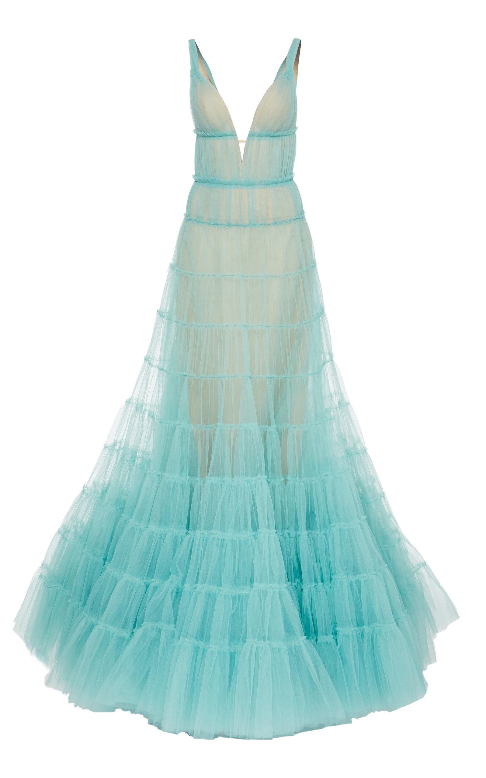 Tiered Gown by J. Mendel | Moda Operandi