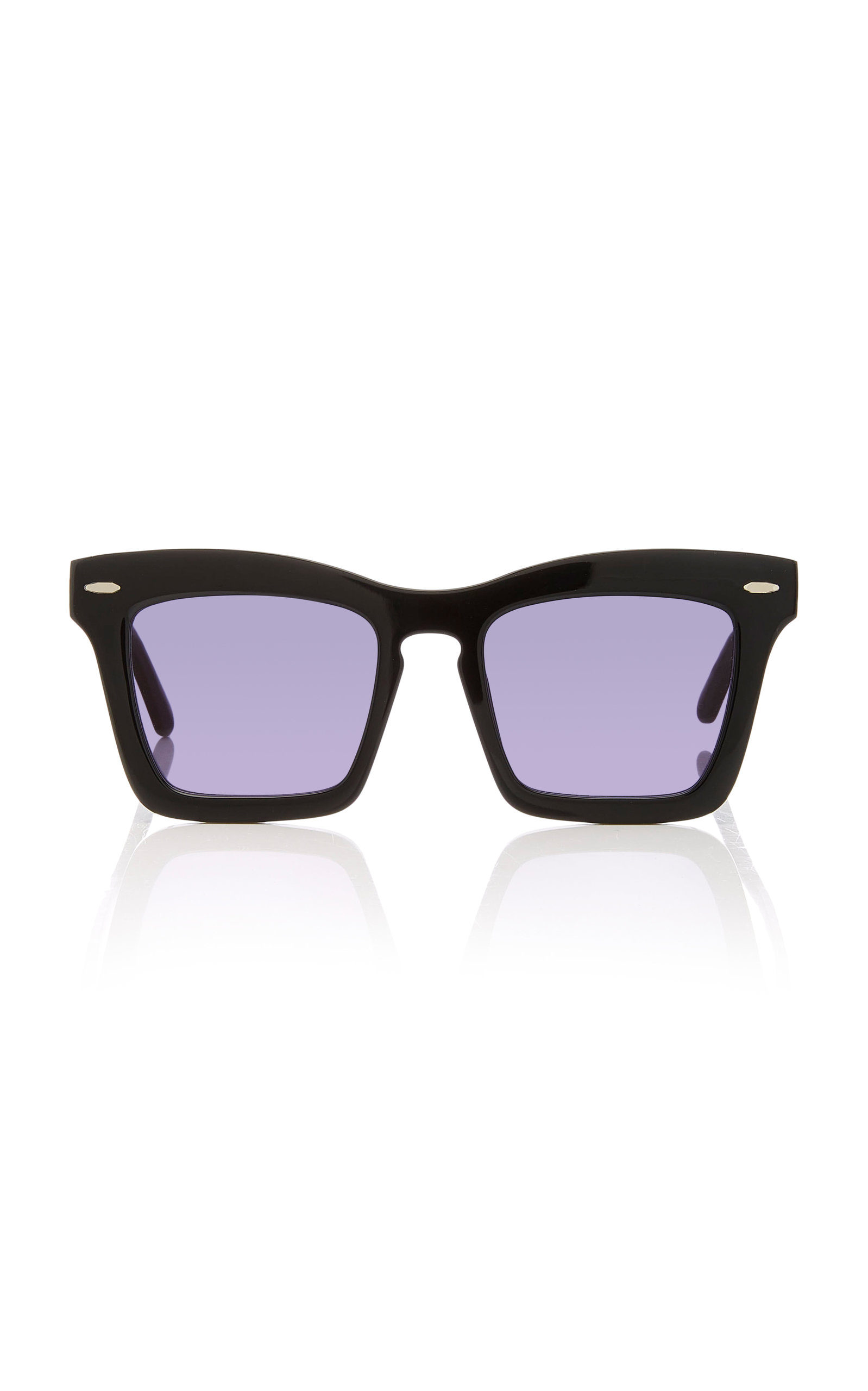 Banks squared-frame acetate sunglasses Karen Walker Eyewear