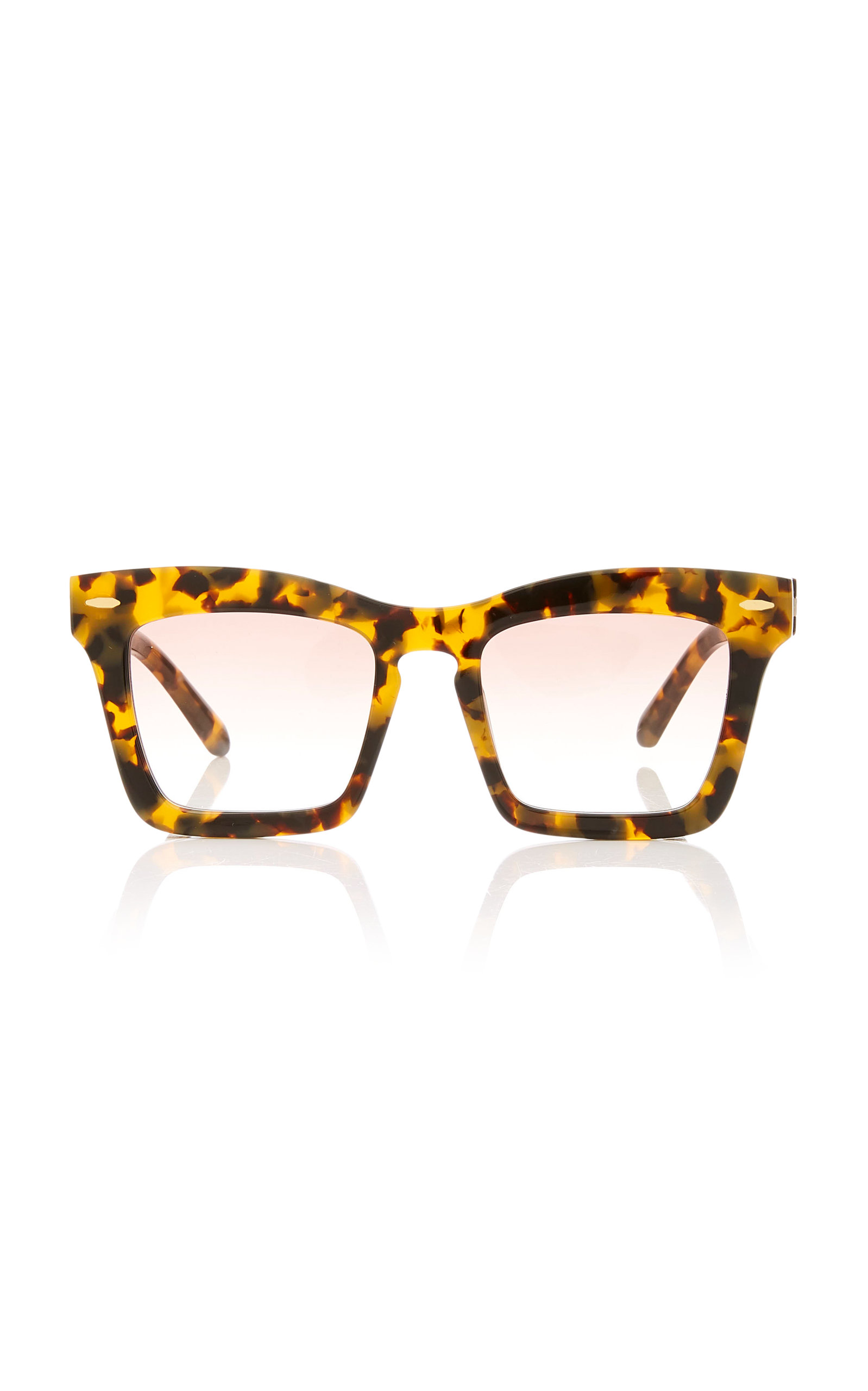 Karen Walker BANKS SQUARE ACETATE SUNGLASSES