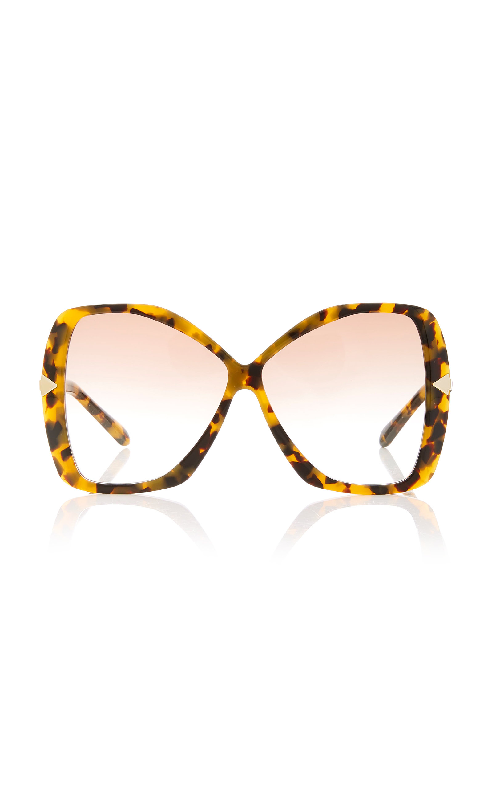 Karen Walker MARY OVERSIZED ACETATE SUNGLASSES