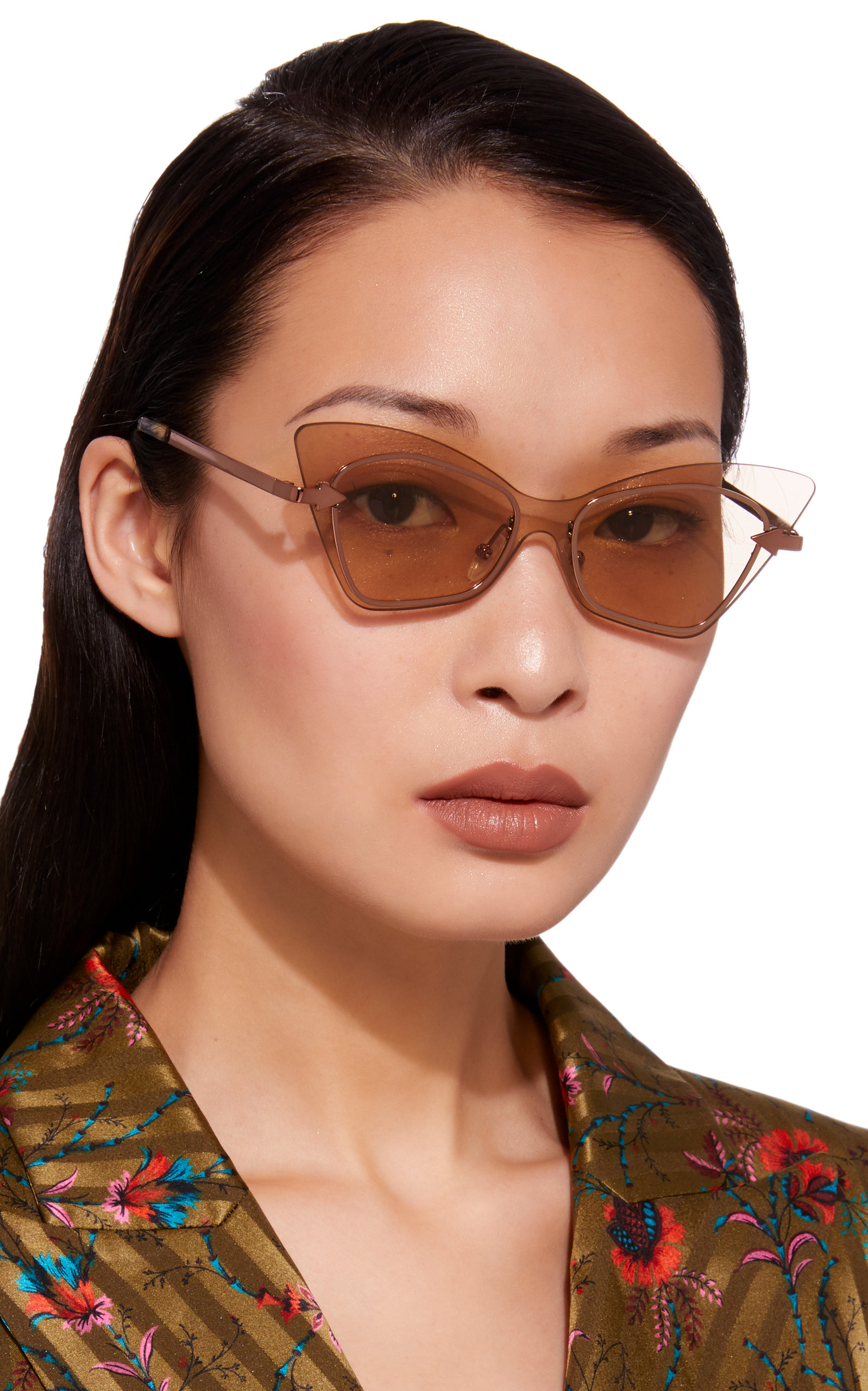 8fb928e1000c KAREN WALKER MRS BRILL CAT EYE ACETATE SUNGLASSES