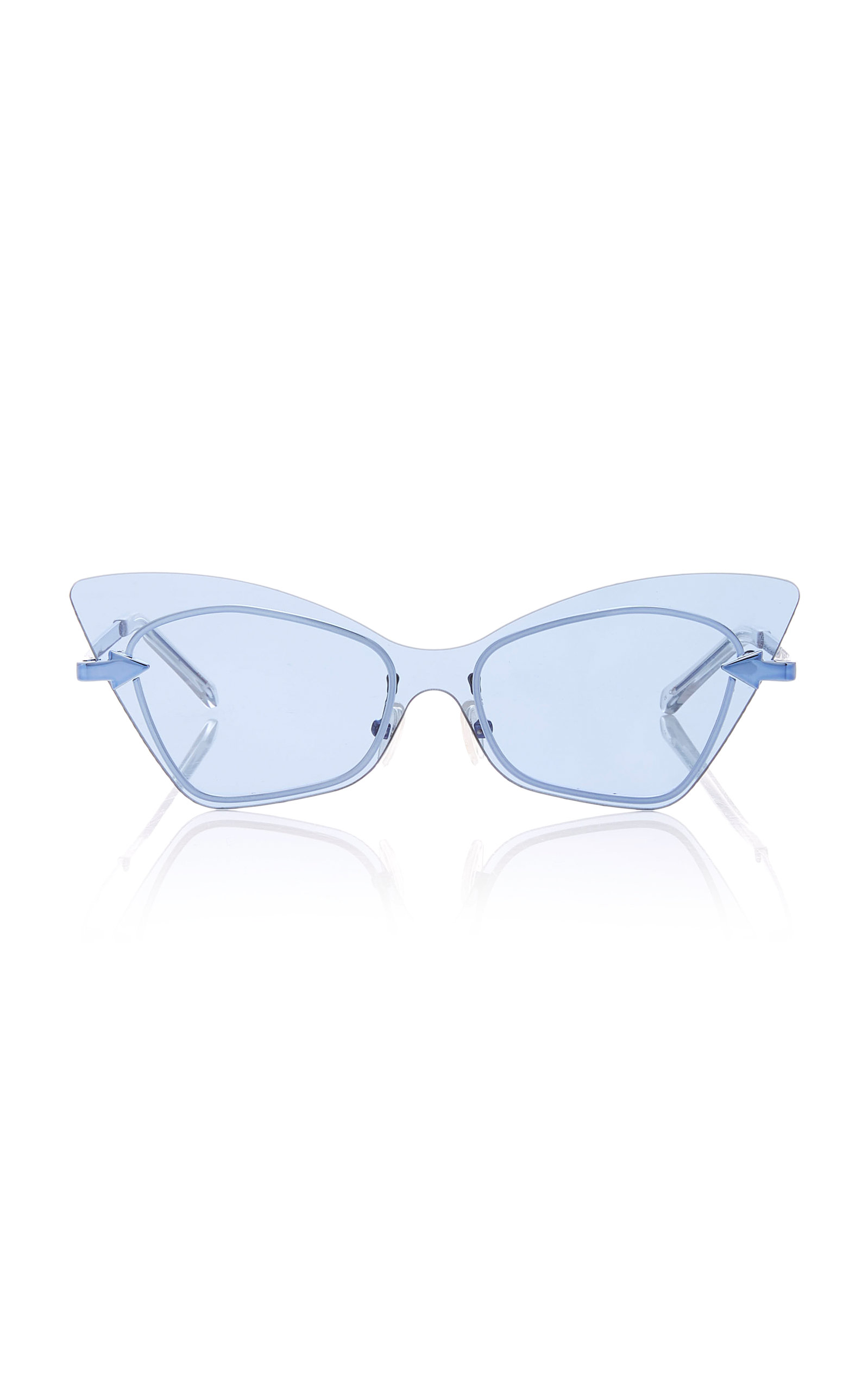 Karen Walker MRS BRILL CAT EYE ACETATE SUNGLASSES