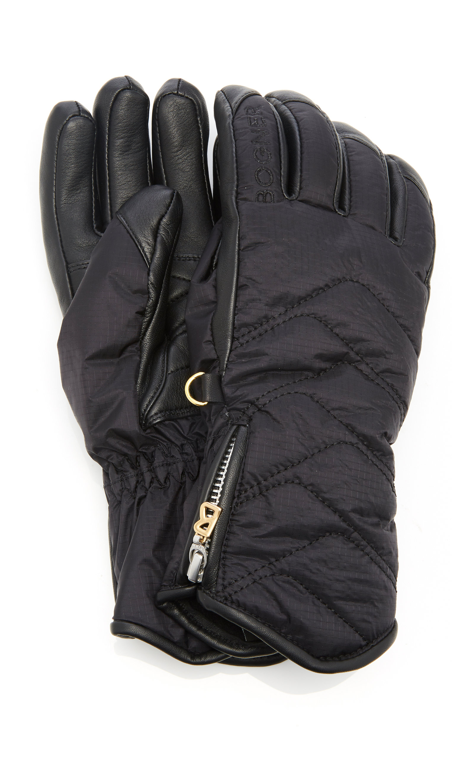 BEA QUILTED SKI GLOVES