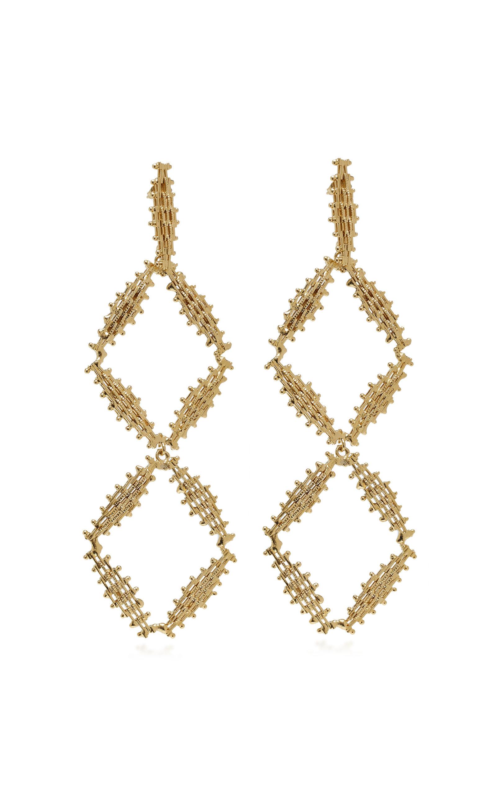 Rosantica Volutta Gold-tone Earrings P3qhE