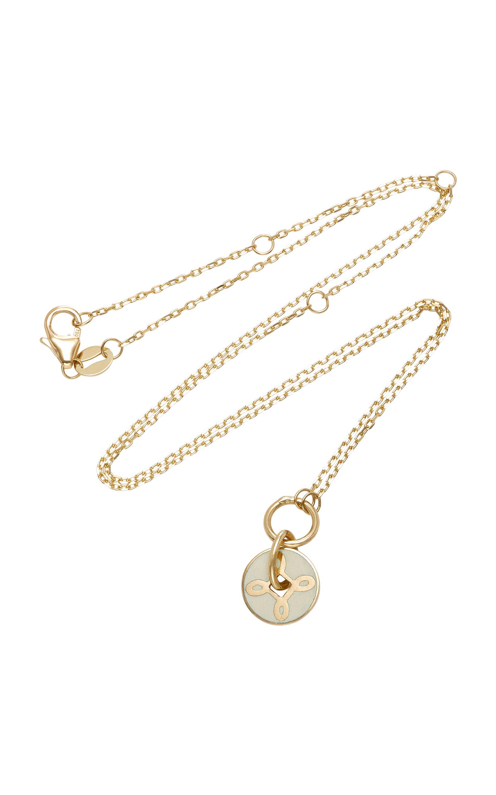 Foundrae True Love 18K Gold Necklace 5GiVGHlI