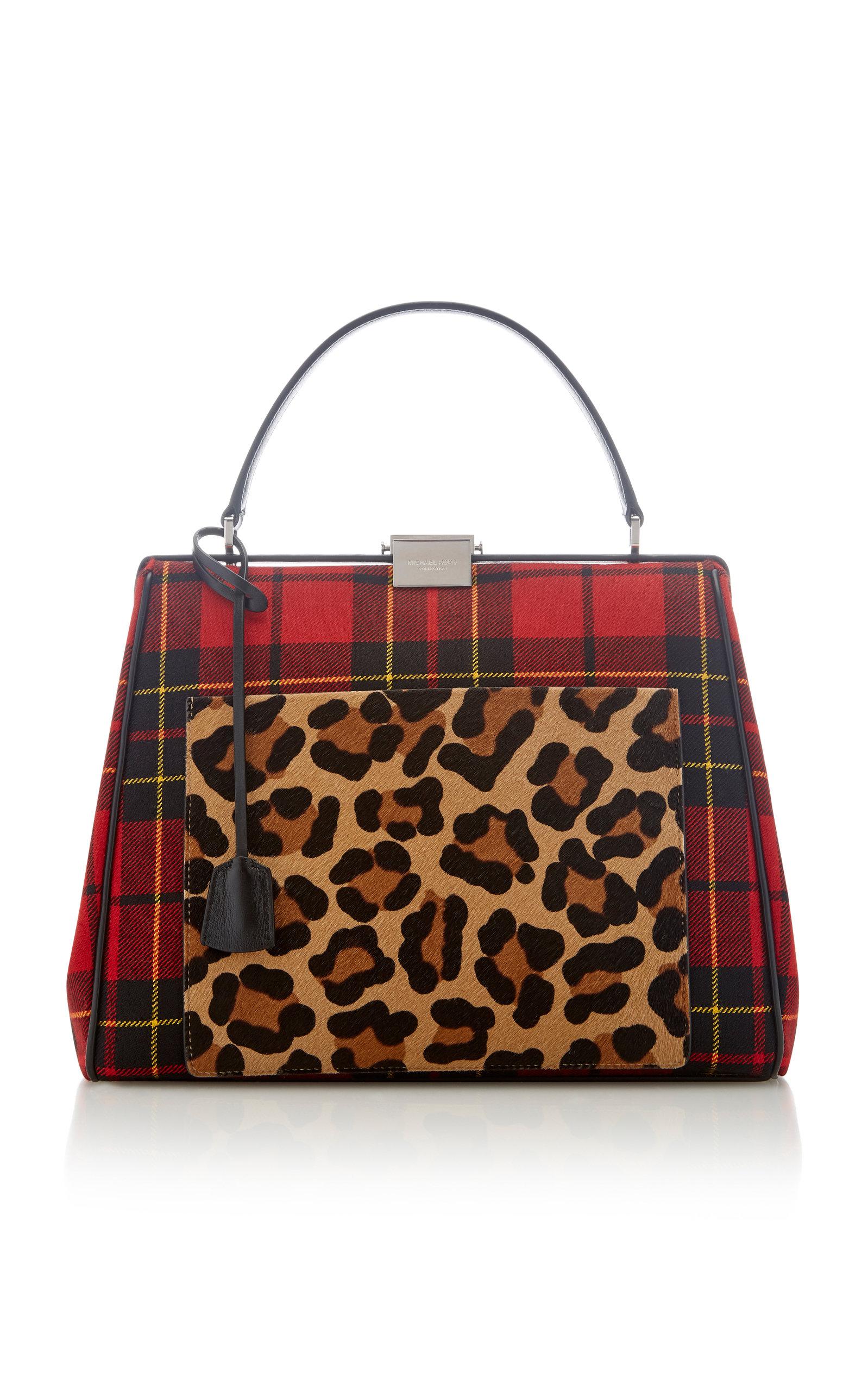7570a7ccc9d8 Michael Kors CollectionRed Brodie Tartan Simone Frame Bag. CLOSE. Loading