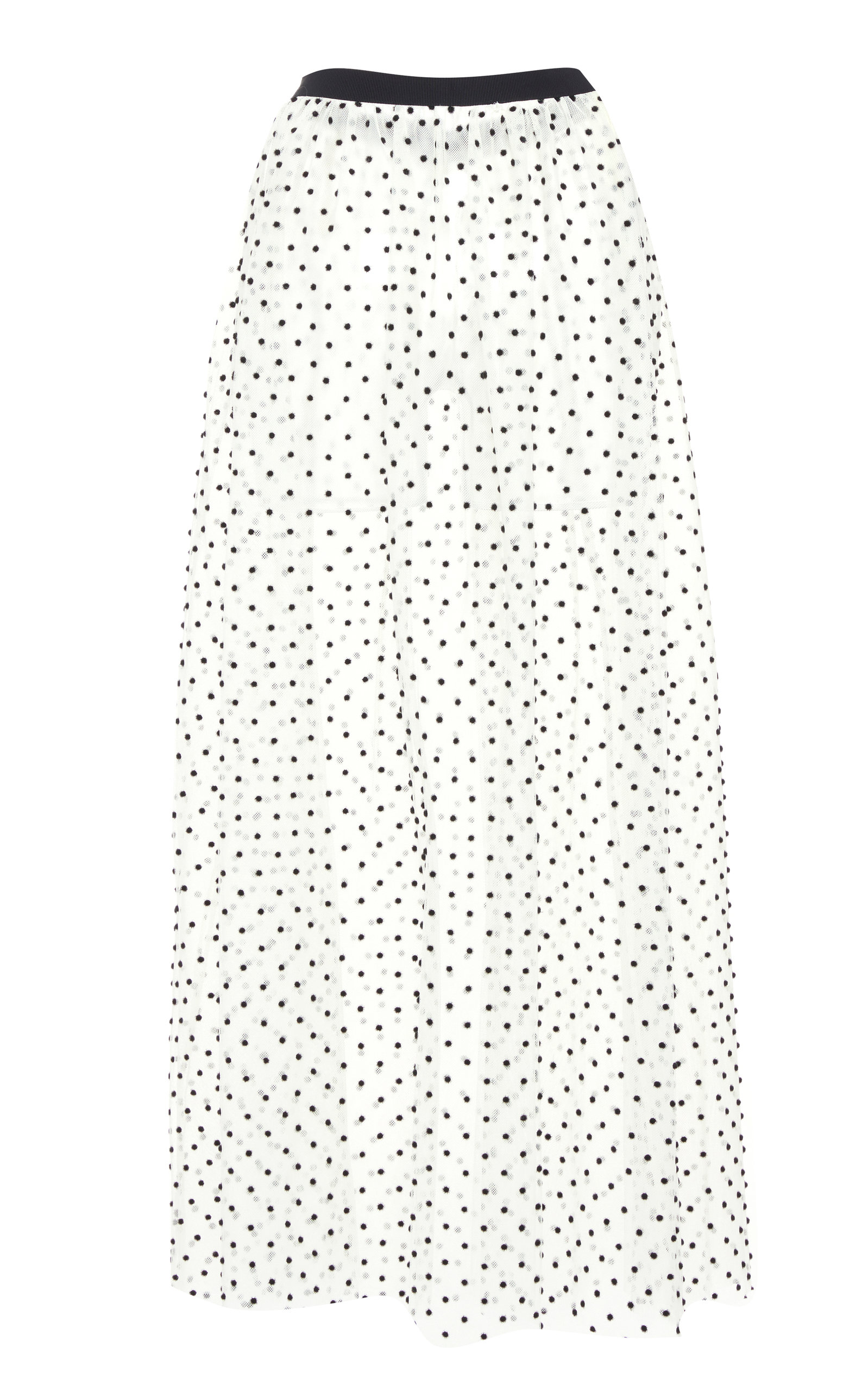 Valentino polka dots sheer skirt Exclusive Cheap Online Sale Best Sale Free Shipping Find Great Supply Cheap Online 6acisWj
