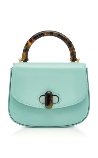 EDIE PARKER | Edie Parker Tortoise-Detail Leather Mini Bag | Goxip