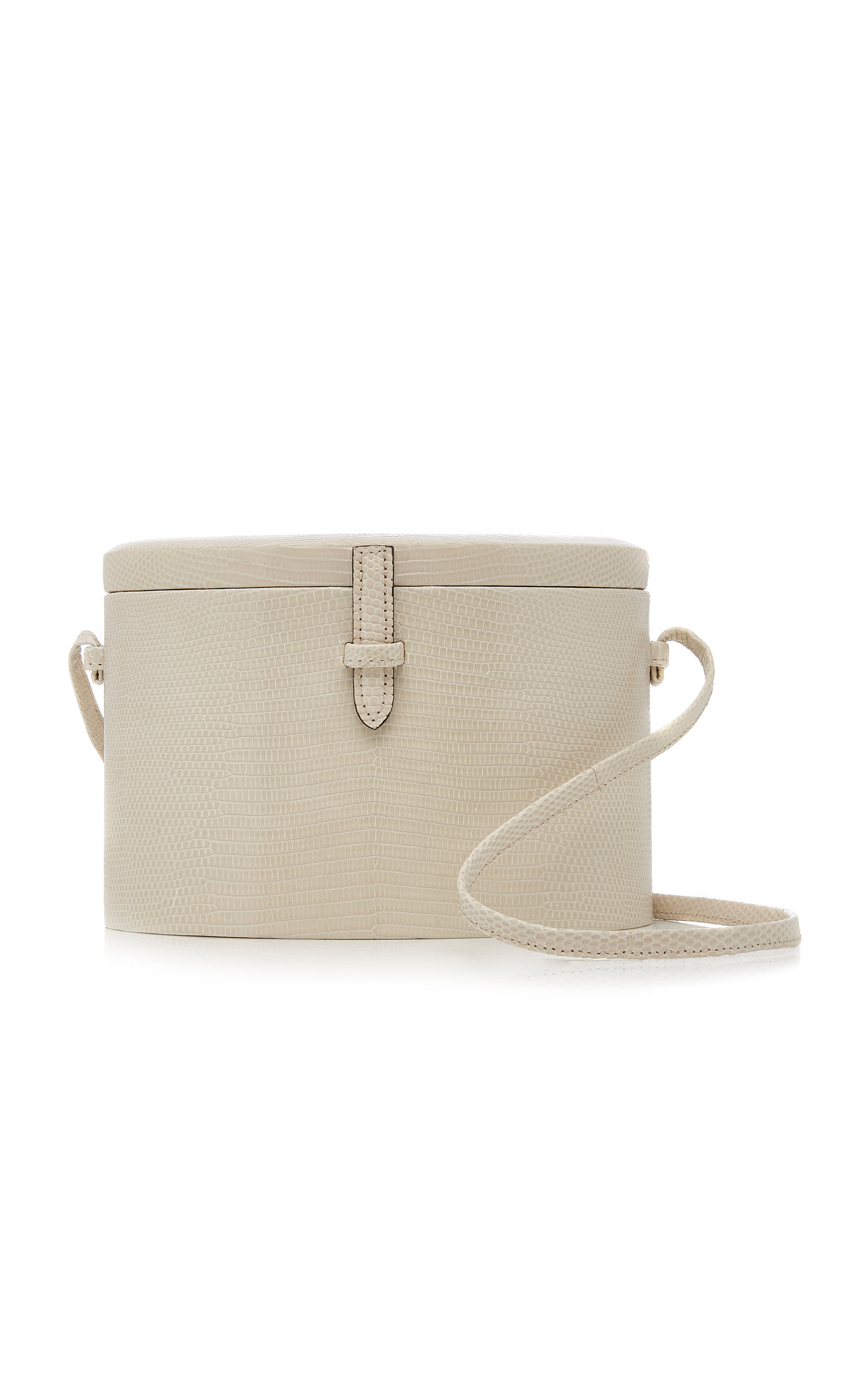 4f5035722d Hunting Season Lizard Trunk Crossbody In White