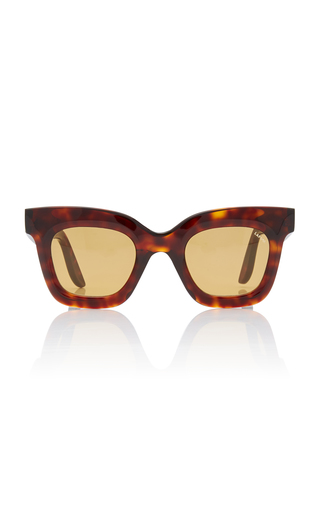 LAPIMA | Lapima Lisa Square-Frame Tortoiseshell Acetate Sunglasses | Goxip