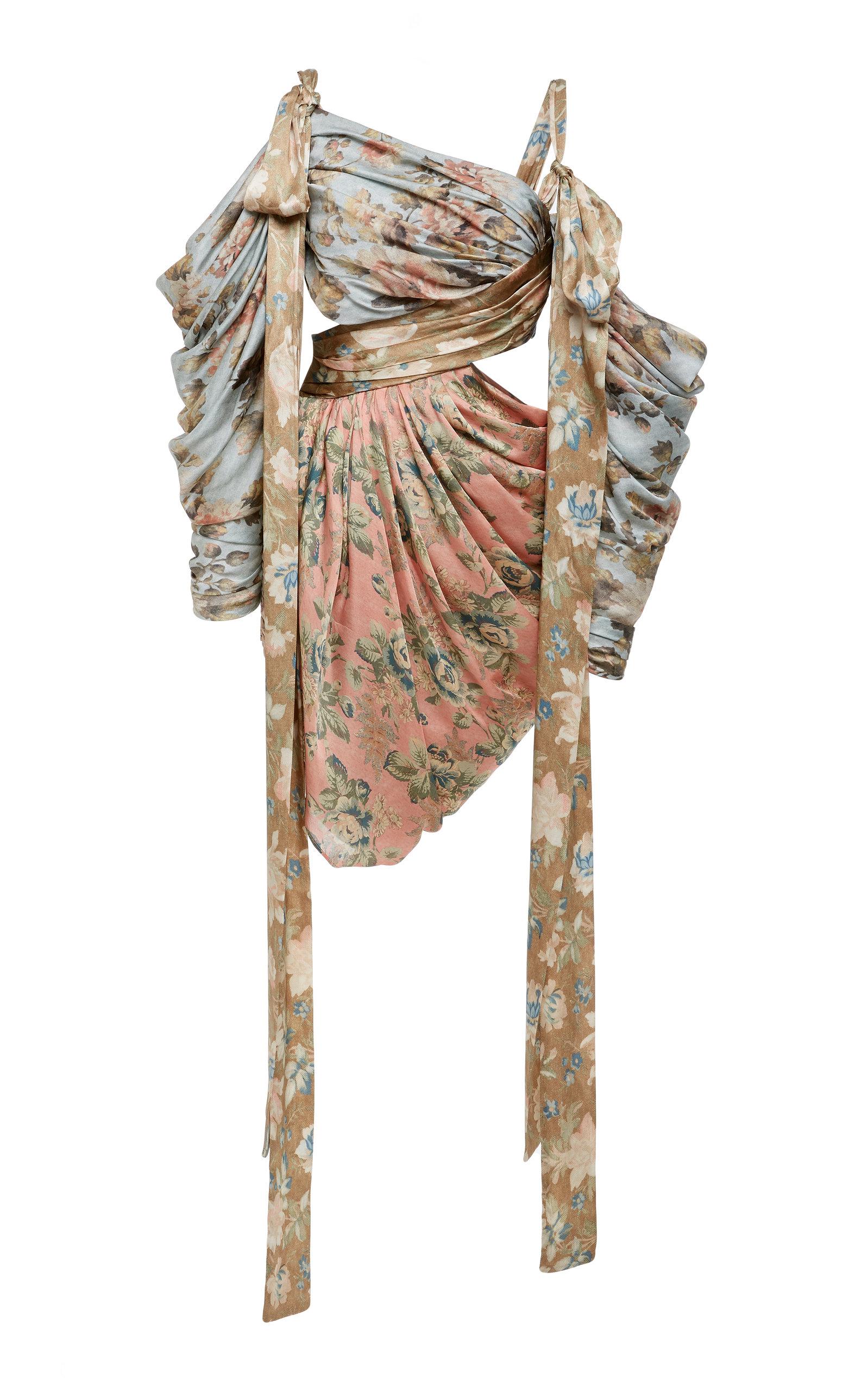 dee5d05d2e95a Unbridled Elixir Silk Mini Dress by Zimmermann | Moda Operandi