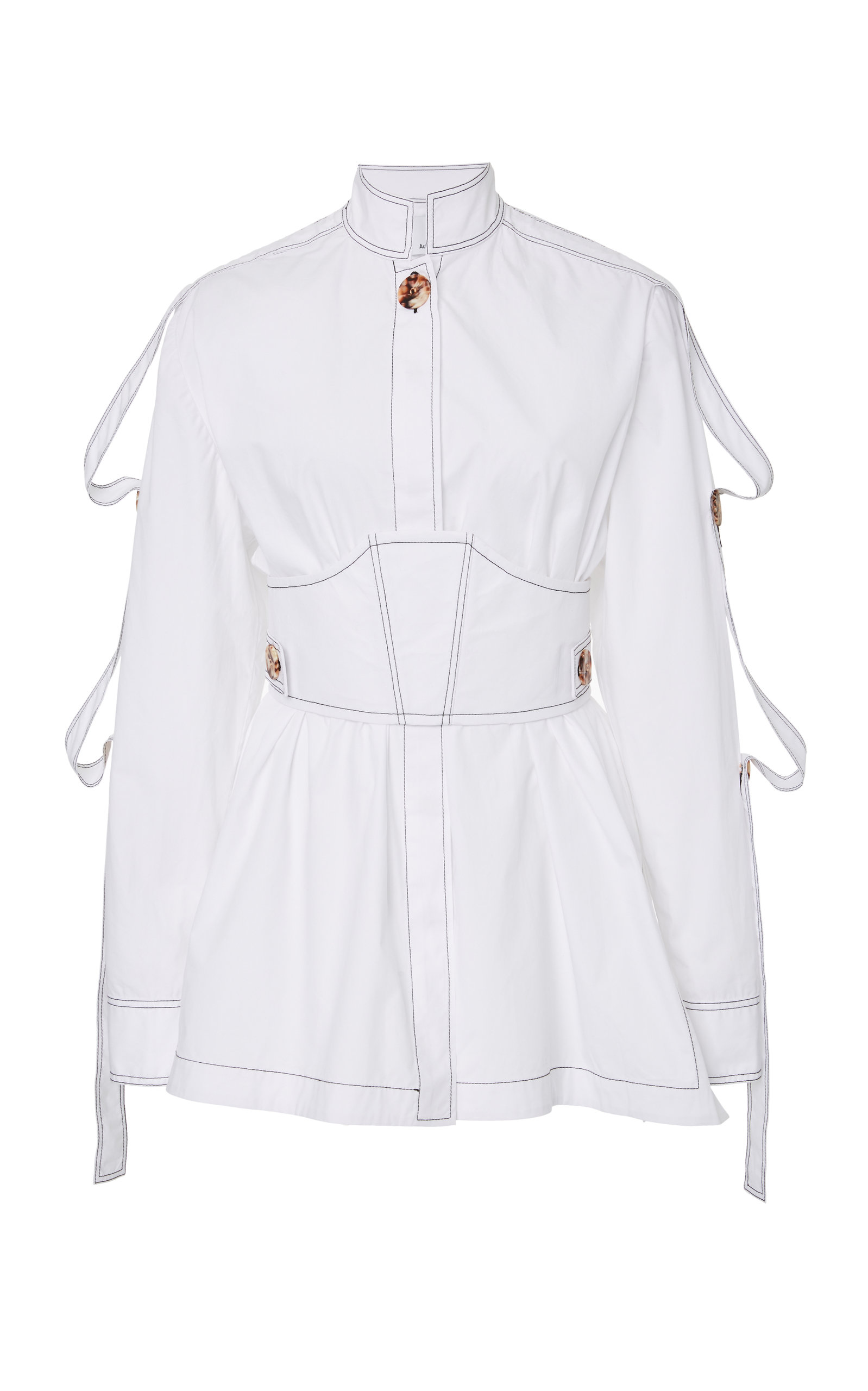 ACLER Laguna Button Up Shirt in White