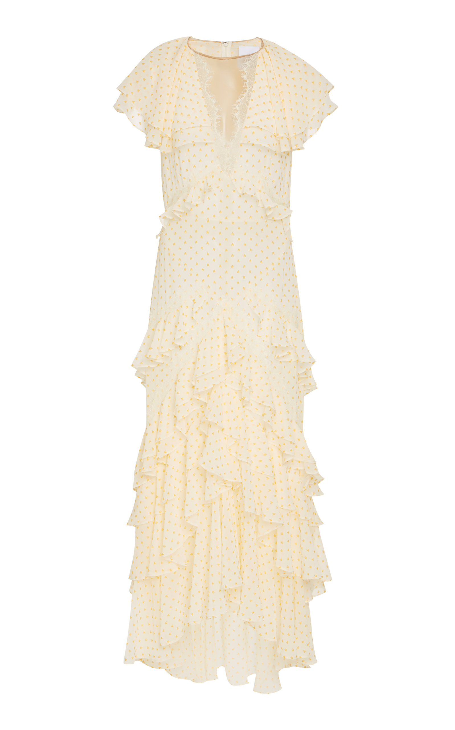 ACLER Paxton Ruffle Dress in Print