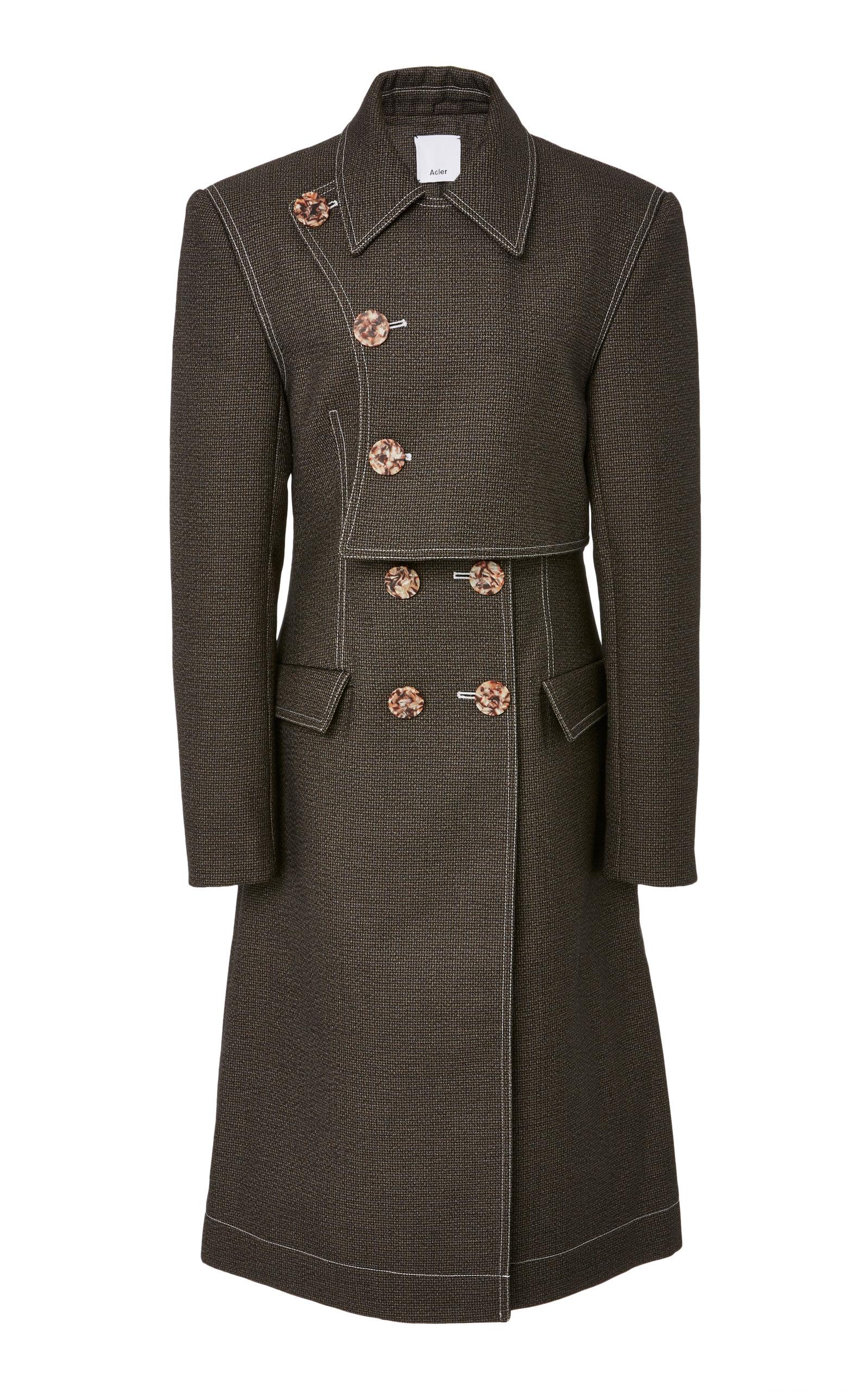 ACLER Union Denim Coat in Grey