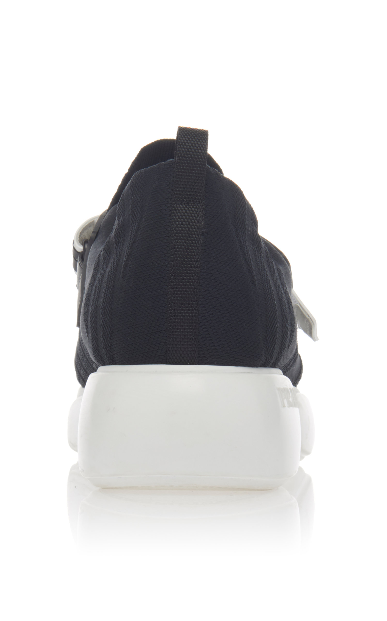 Rubber By Leather Trimmed Mesh Sneakers Cloudbust PradaModa And 0mv8ONwn